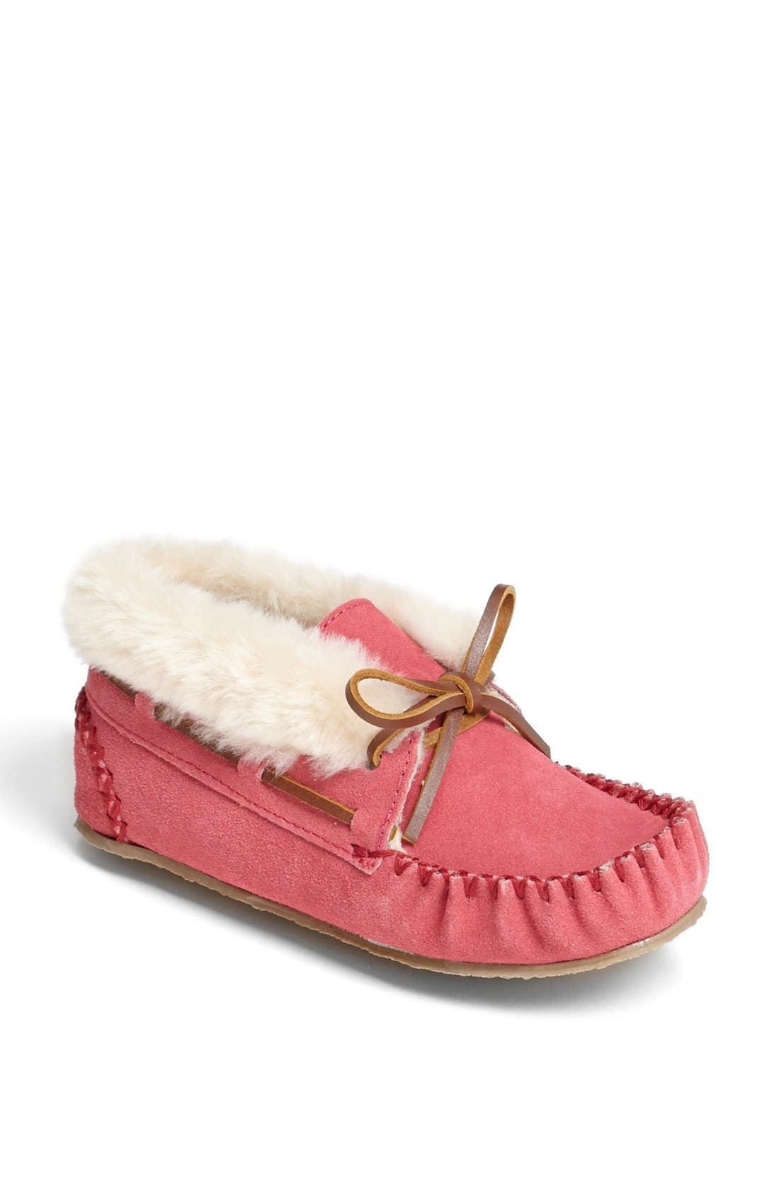 MINNETONKA, 'Charley' Bootie, Main thumbnail 1, color, HOT PINK