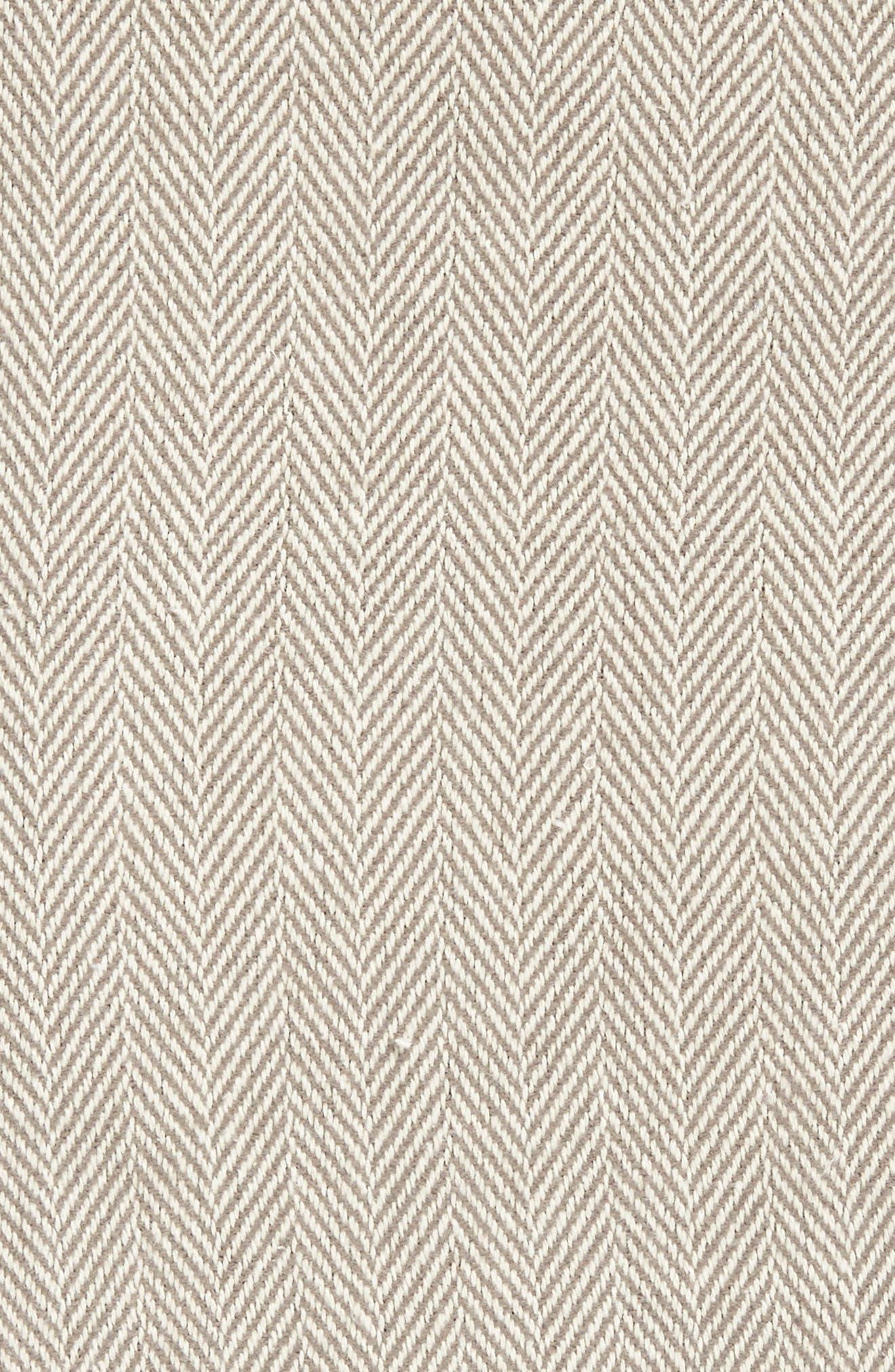 SFERRA, Celine Throw, Alternate thumbnail 2, color, CHARCOAL