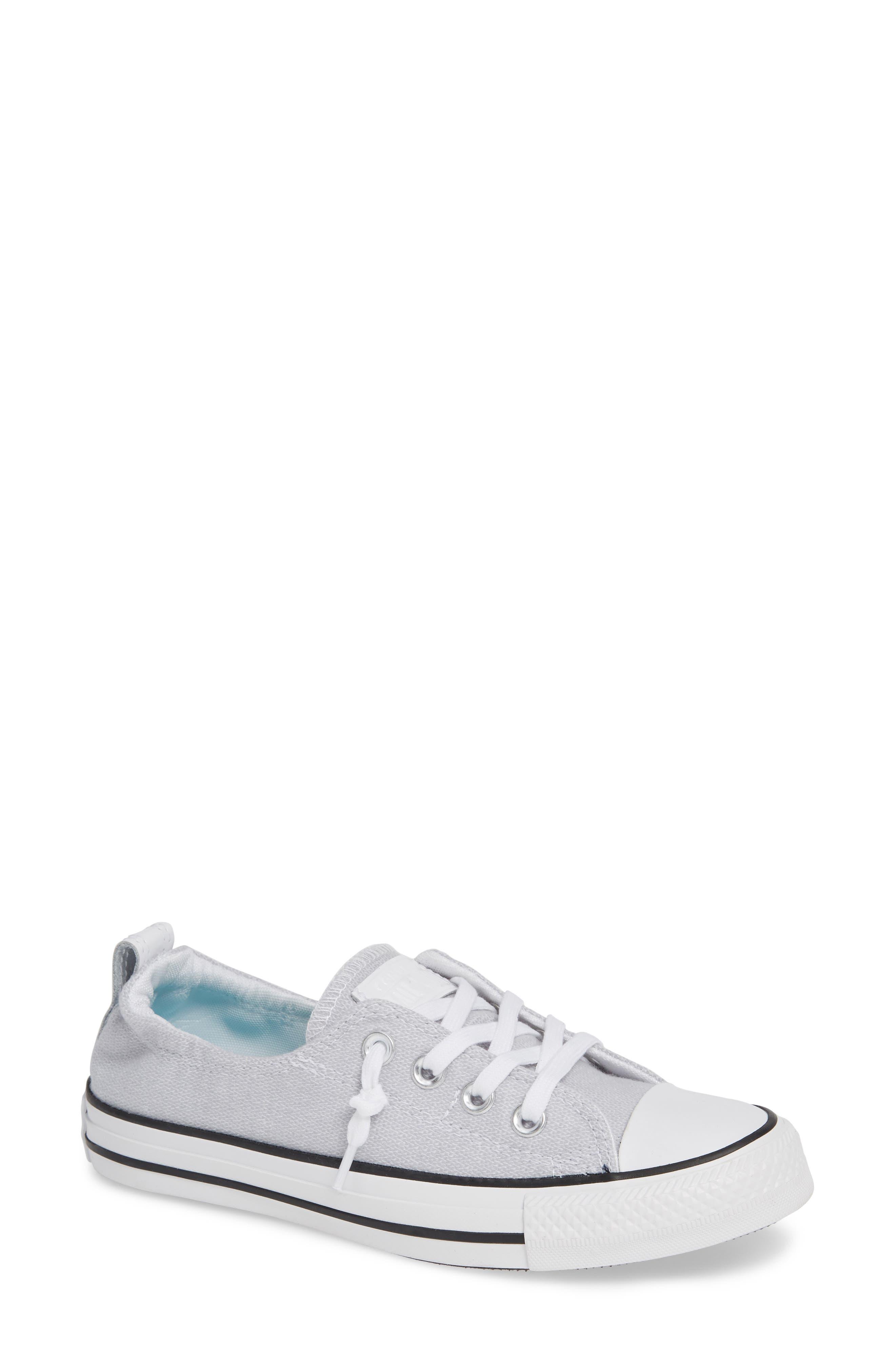 CONVERSE, Chuck Taylor<sup>®</sup> 'Shoreline' Sneaker, Main thumbnail 1, color, WHITE