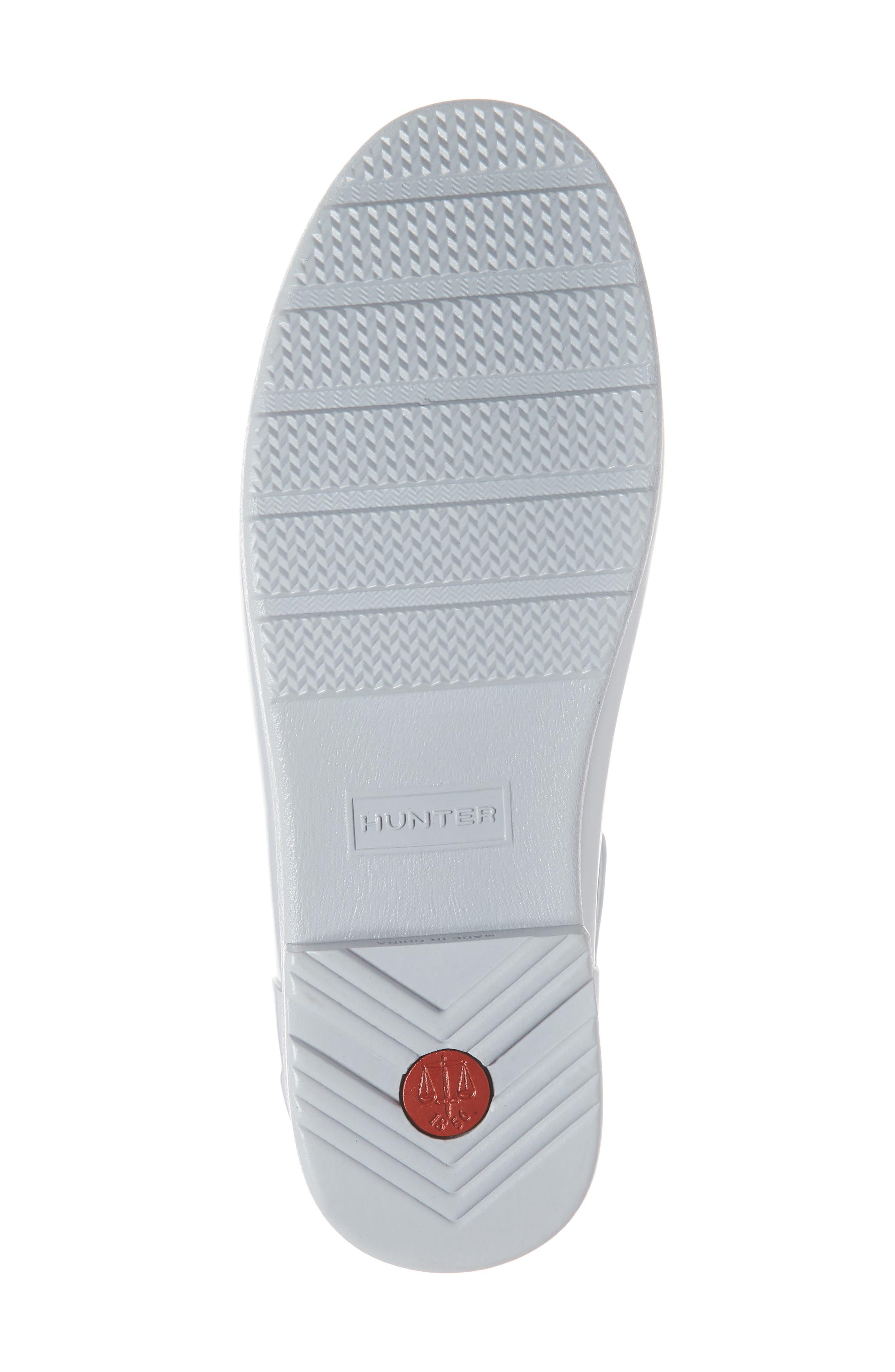 HUNTER, Original Refined Chelsea Waterproof Rain Boot, Alternate thumbnail 6, color, 074