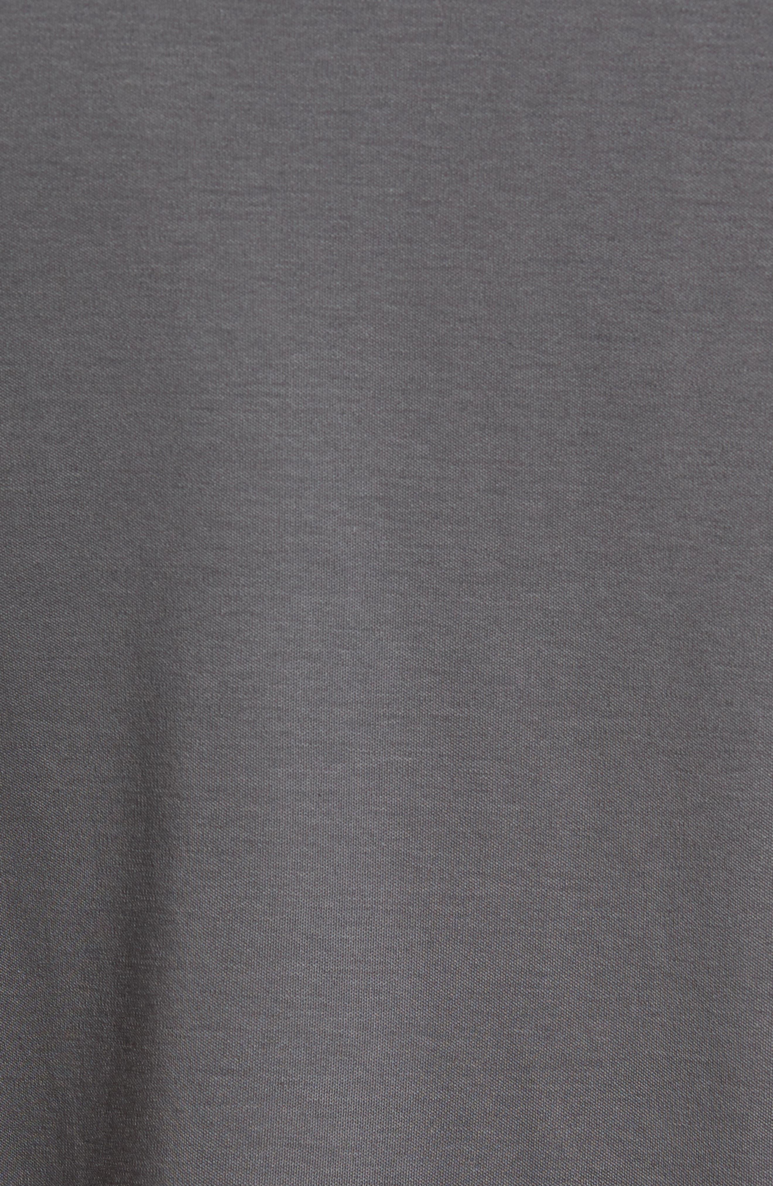 ROBERT BARAKETT, Georgia Regular Fit V-Neck T-Shirt, Alternate thumbnail 5, color, IRON