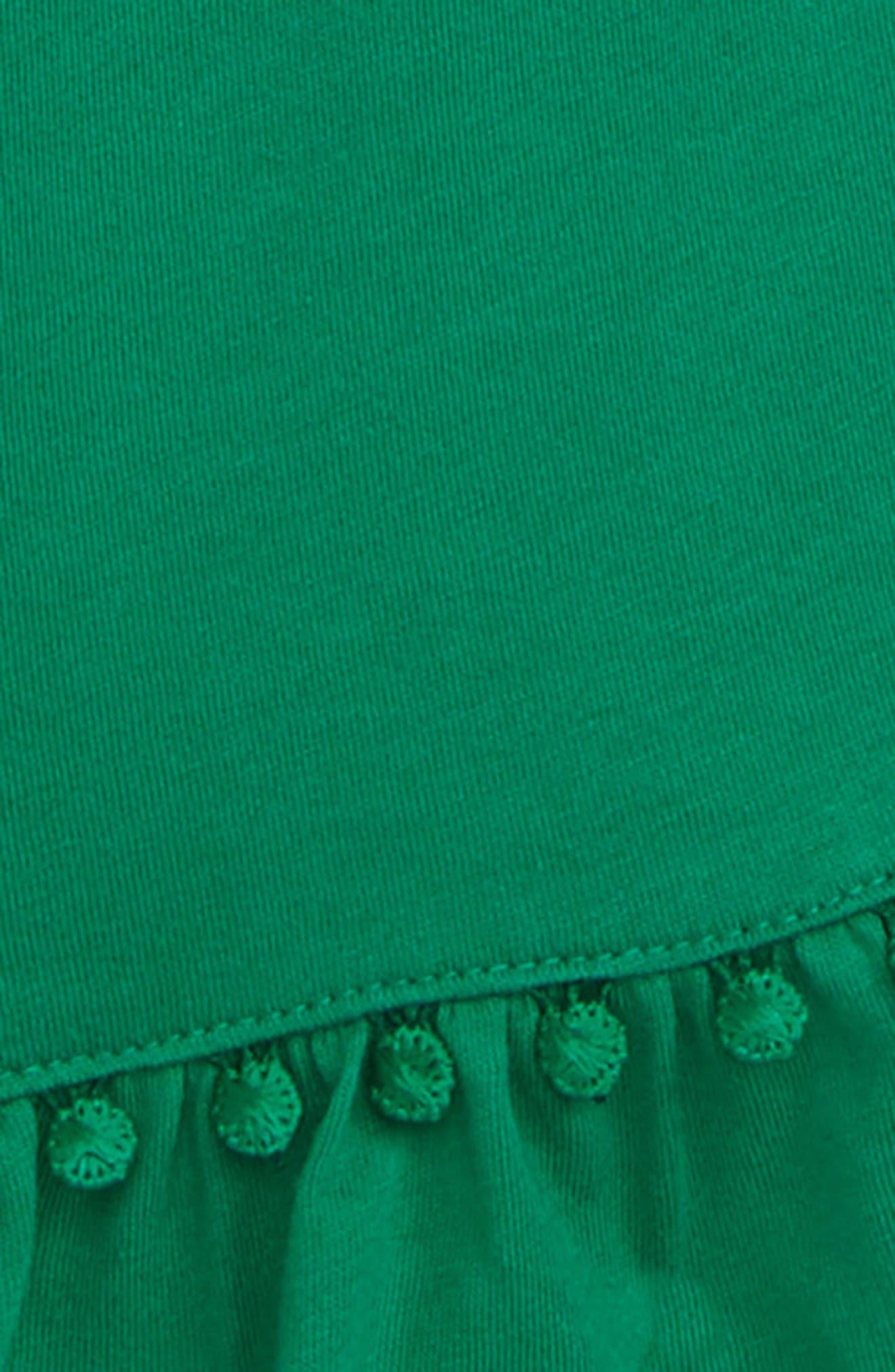SCOTCH R'BELLE, Knit Romper, Alternate thumbnail 2, color, 2798 PALM