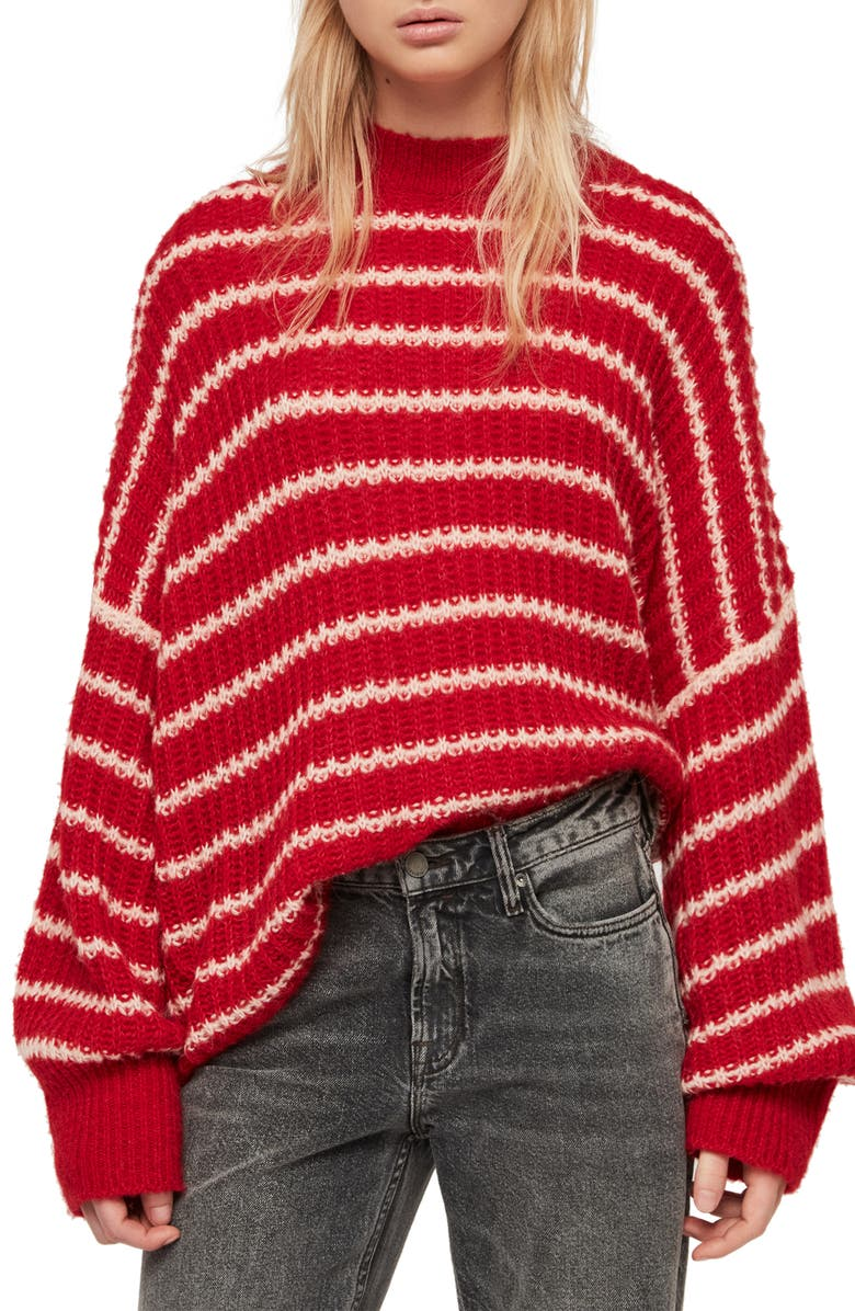 Allsaints Sweaters RENNE STRIPE SWEATER