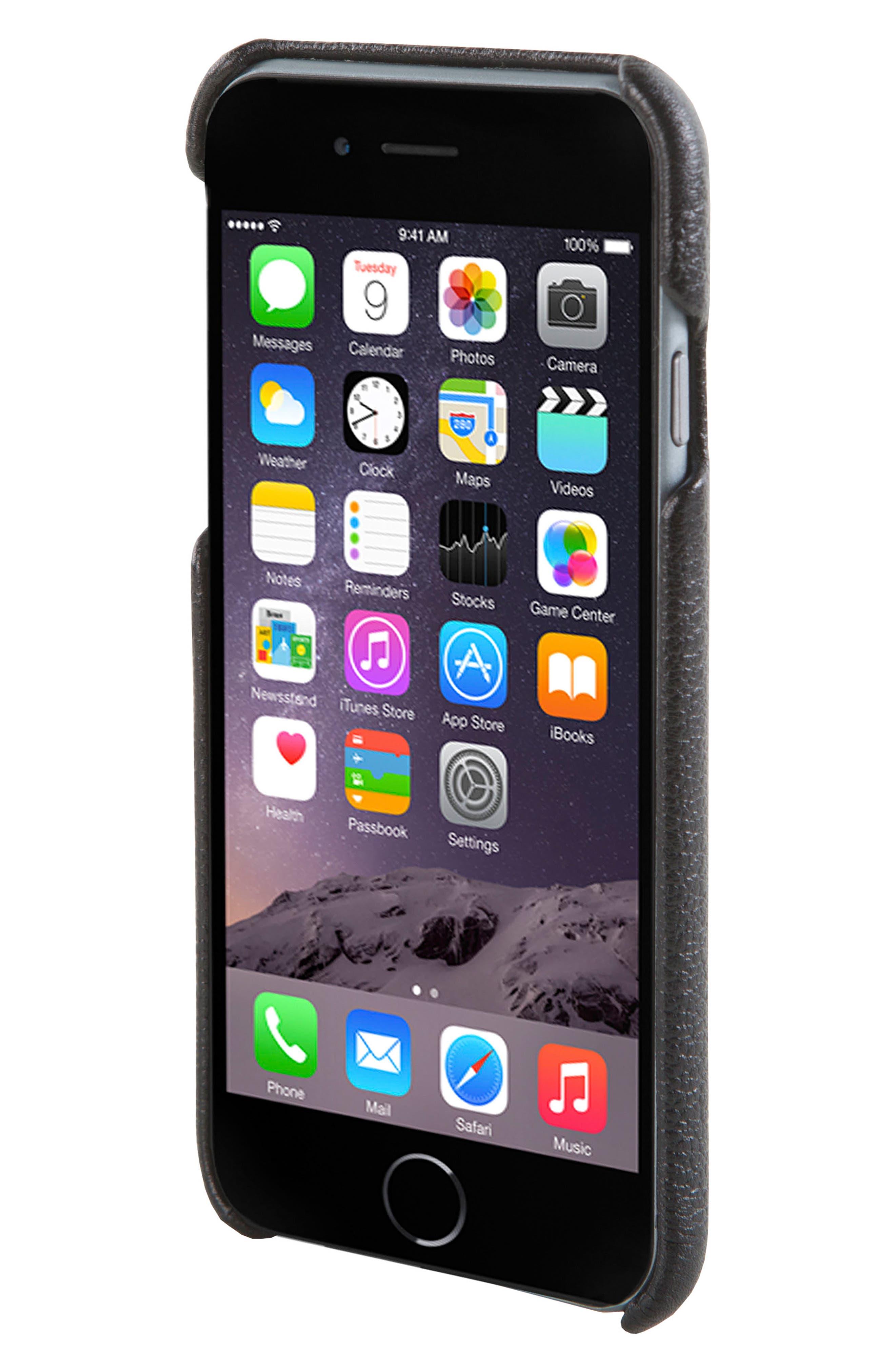HEX, Solo iPhone 6/6s Wallet Case, Alternate thumbnail 3, color, 001