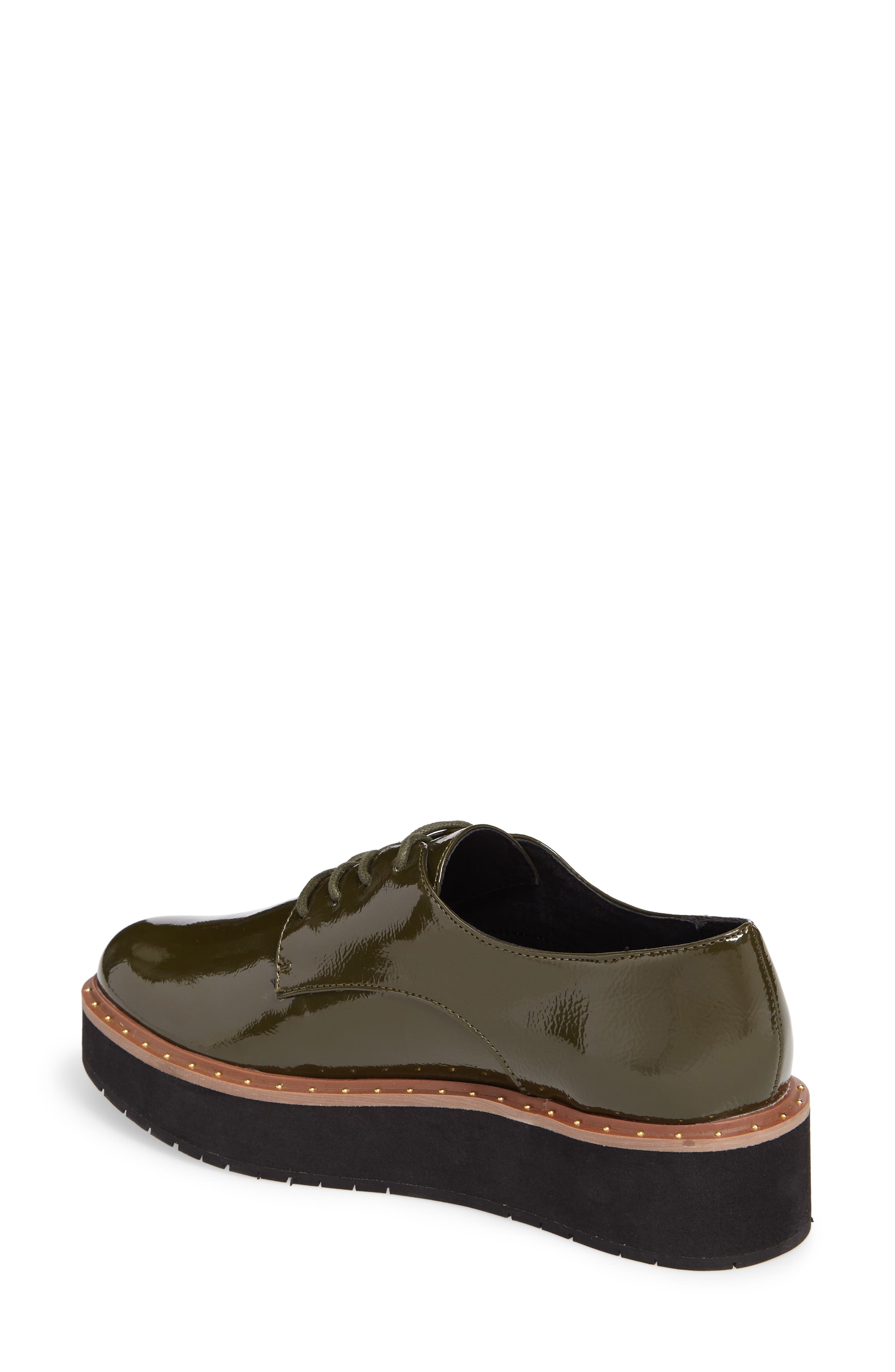 CHINESE LAUNDRY, Cecilia Platform Oxford, Alternate thumbnail 2, color, OLIVE