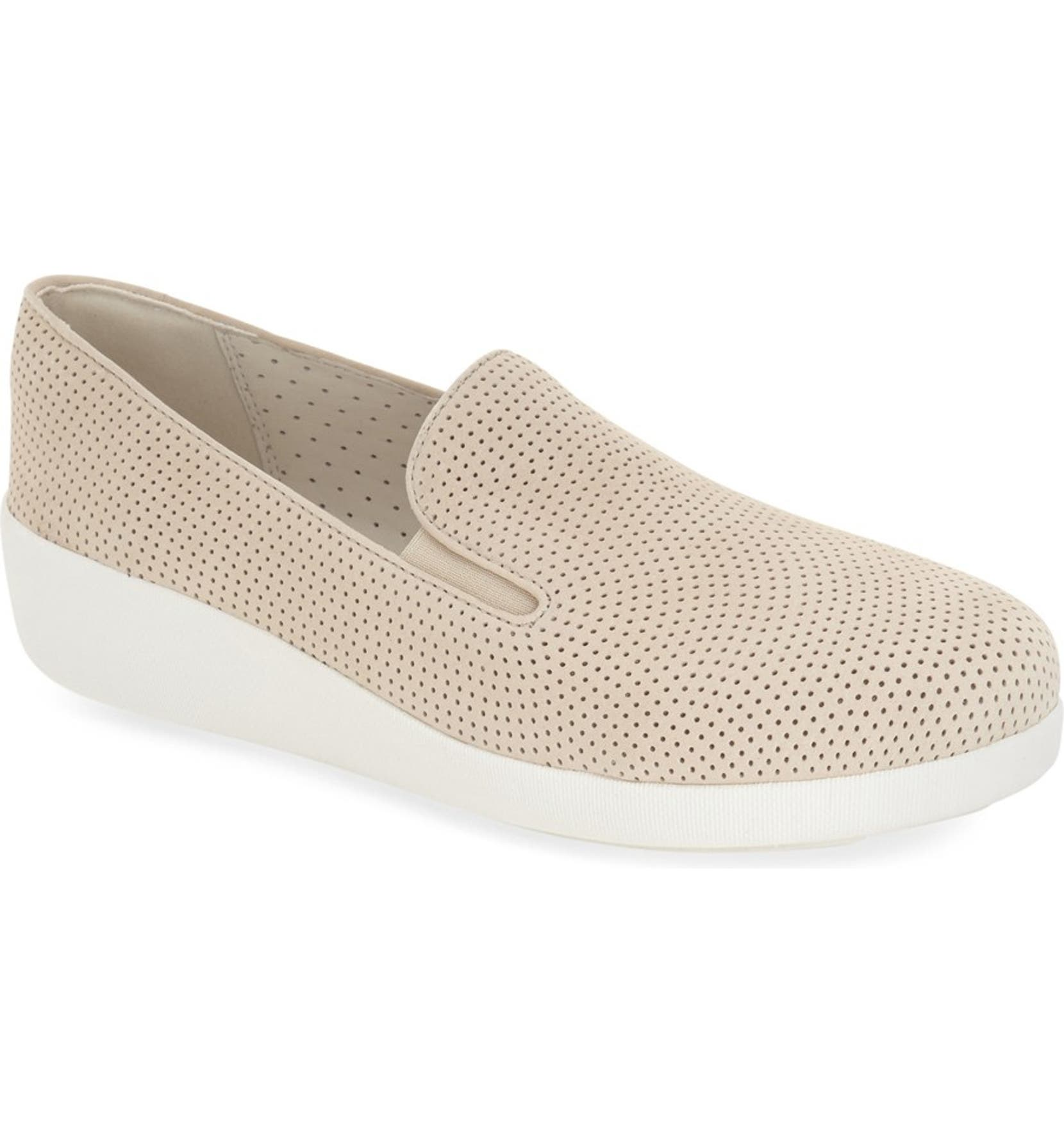 0d73025a0ac FitFlop™  F-Pop Skate  Perforated Wedge Sneaker (Women)
