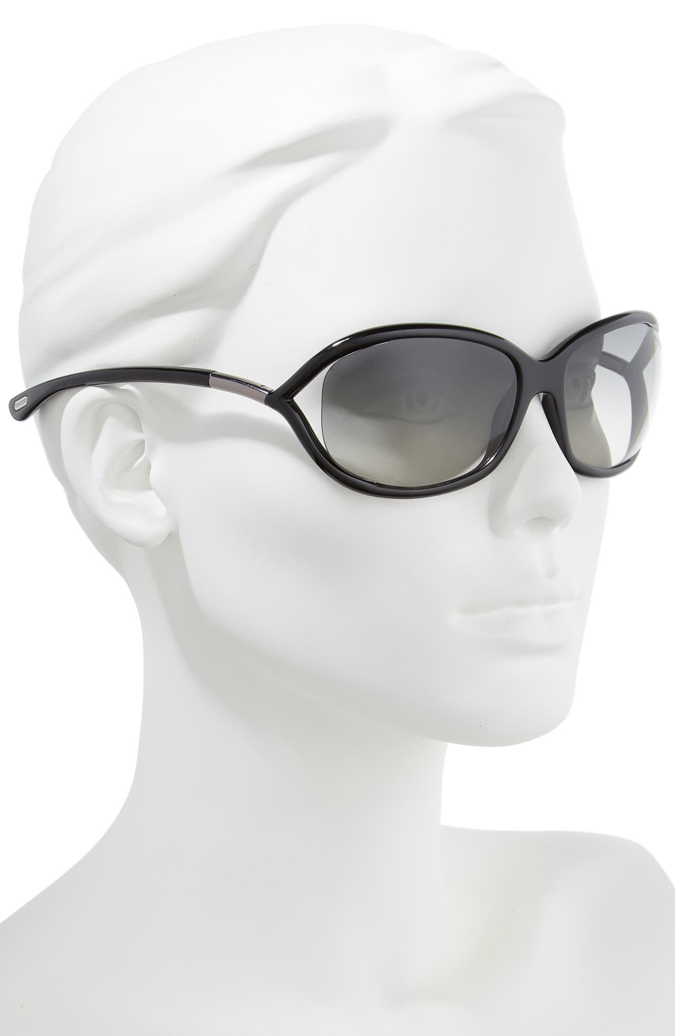 56fdcc4d171 Tom Ford  Jennifer  61mm Oval Oversize Frame Sunglasses