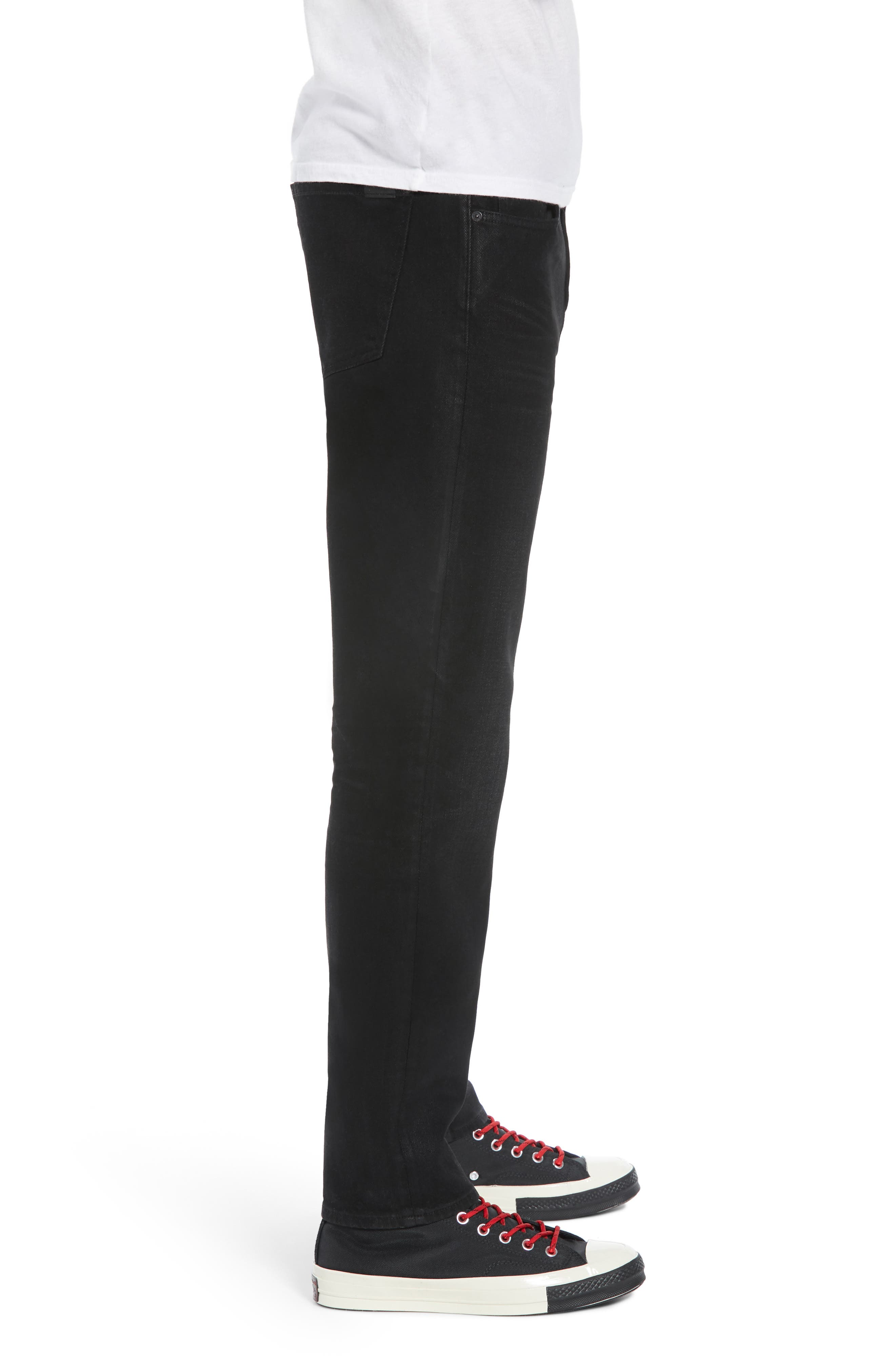 7 FOR ALL MANKIND<SUP>®</SUP>, Ryley Skinny Fit Jeans, Alternate thumbnail 4, color, 004