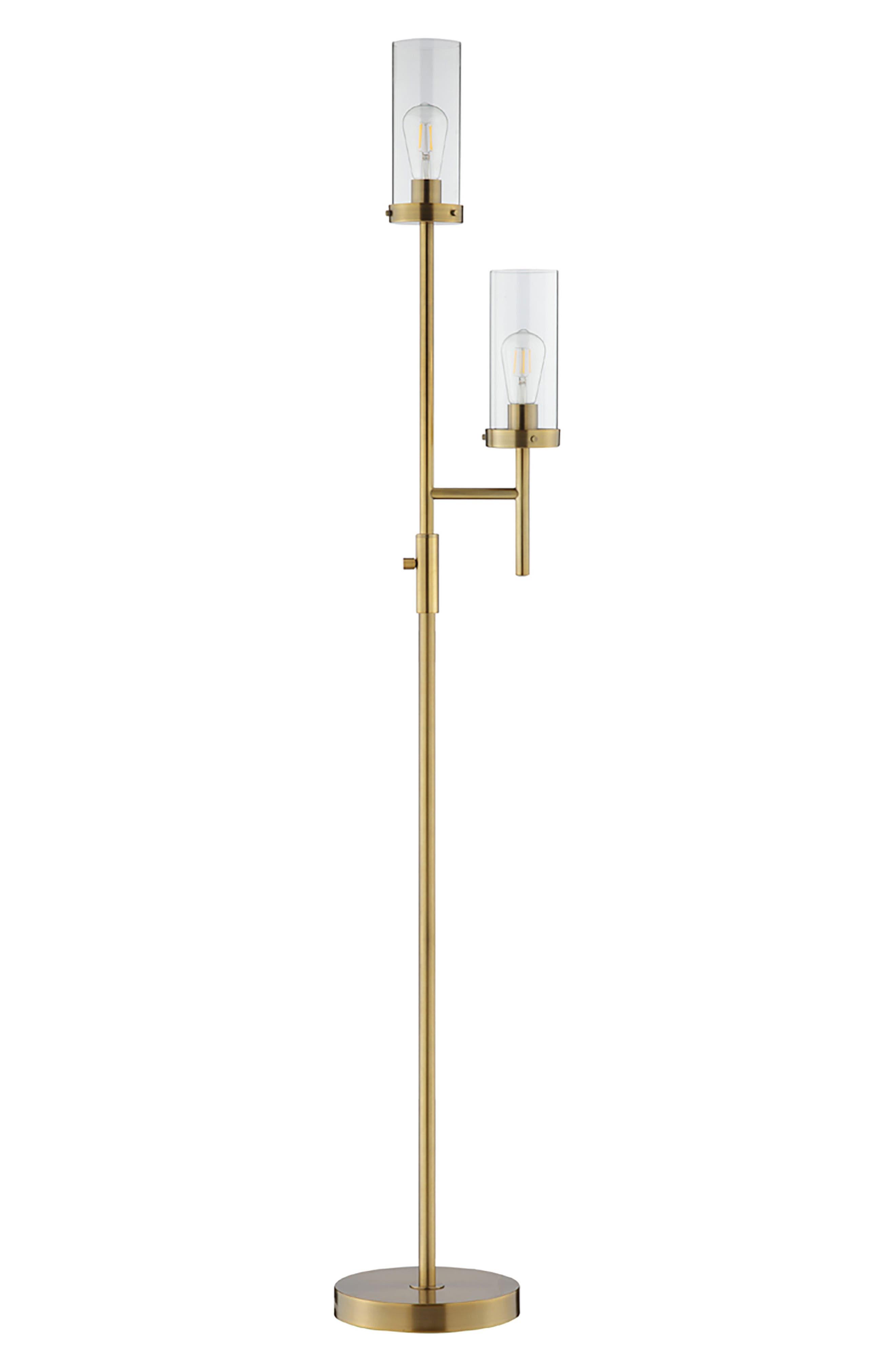 Jalexander Hayden Floor Lamp Size One Size  Metallic