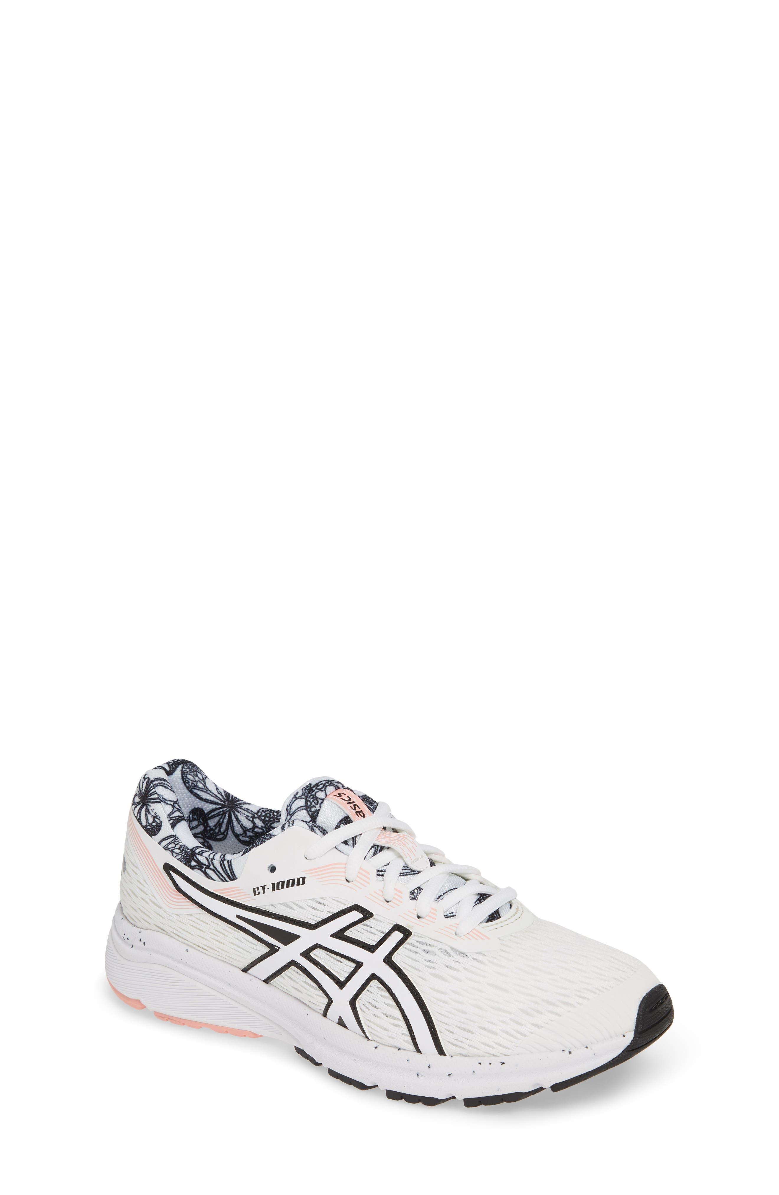 ASICS<SUP>®</SUP>, GT 1000 7 Running Shoe, Main thumbnail 1, color, WHITE/ WHITE
