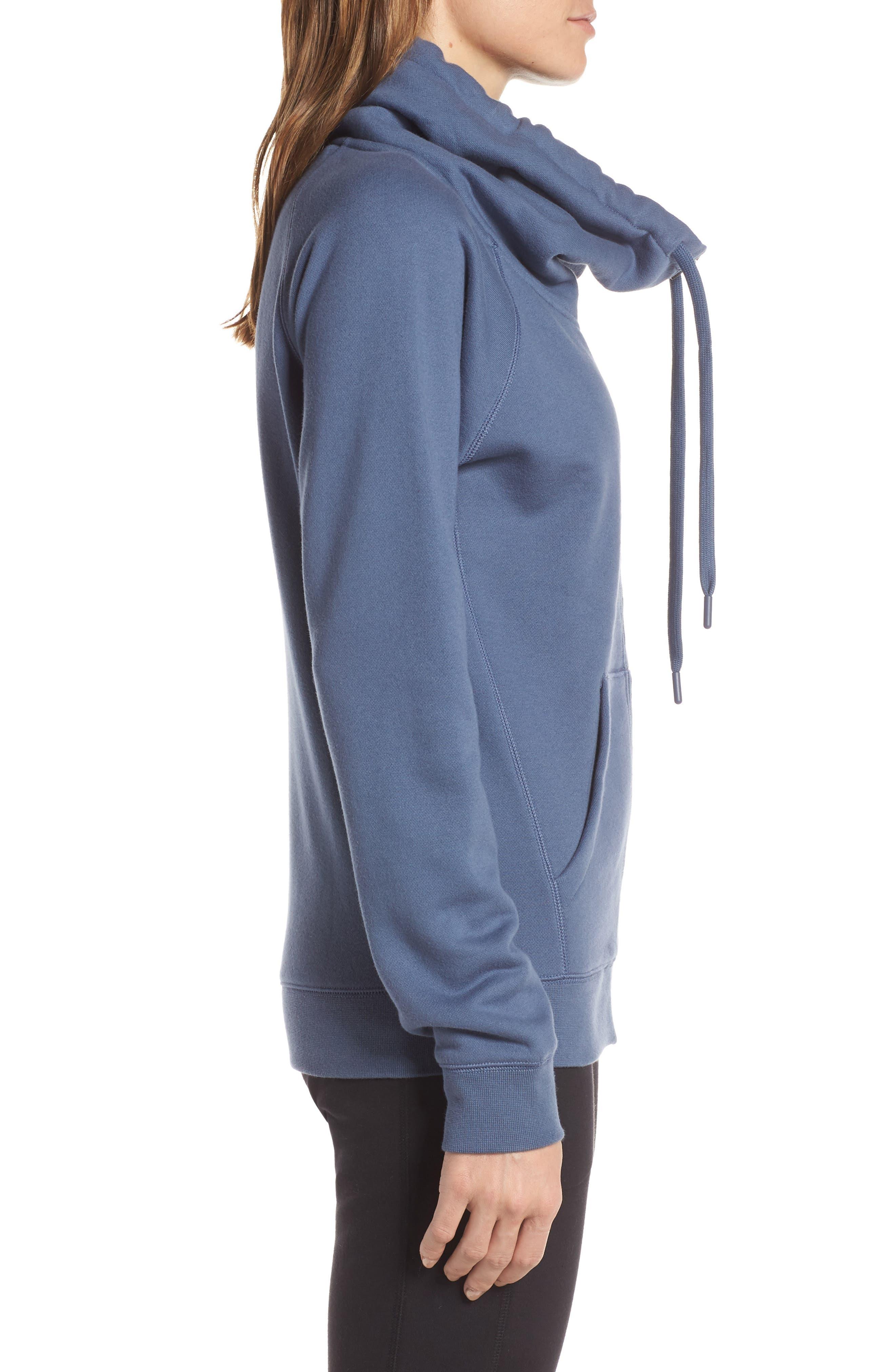 ZELLA, Old School Daydream Jacket, Alternate thumbnail 4, color, BLUE VINTAGE