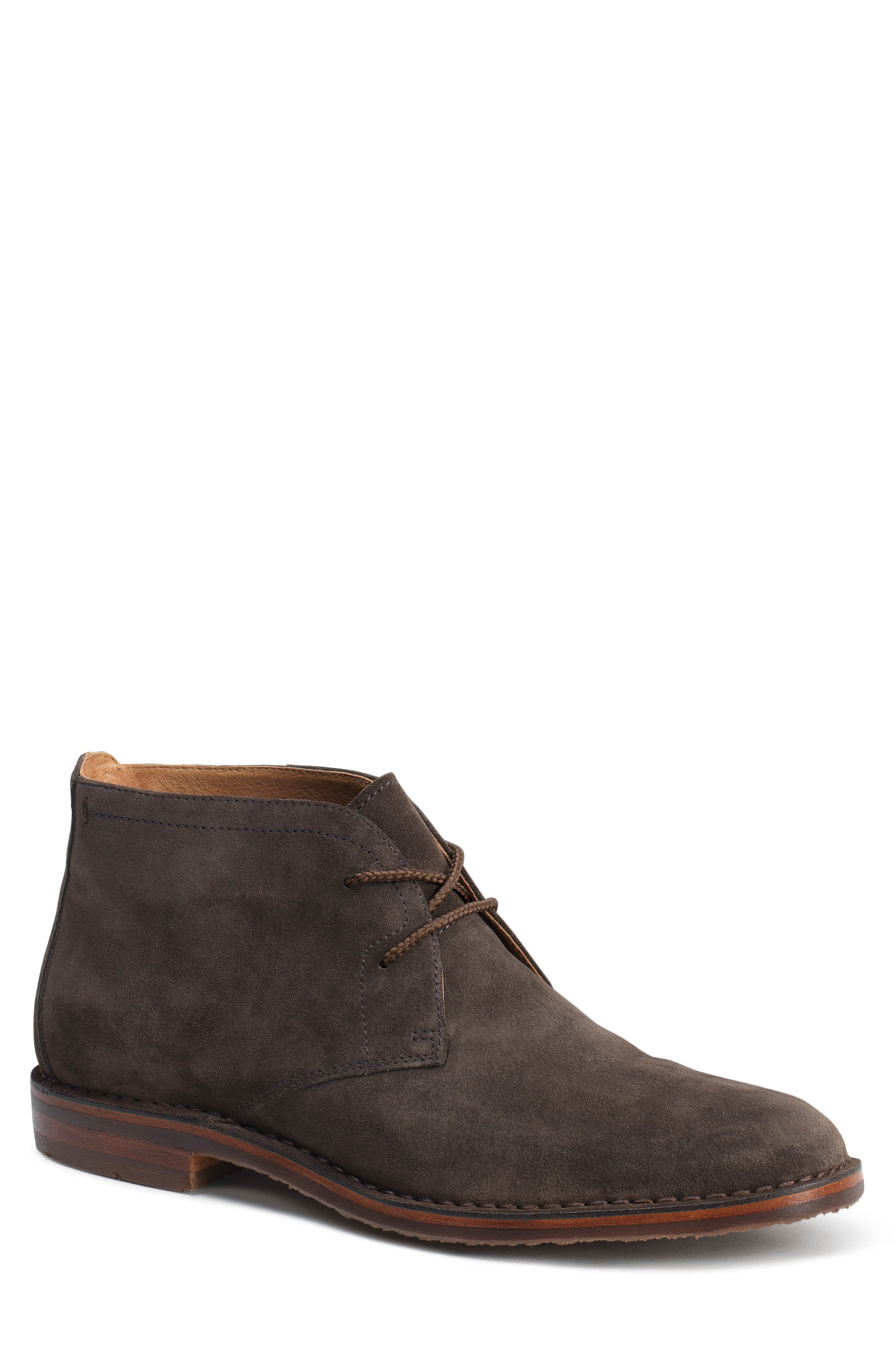 TRASK 'Brady' Chukka Boot, Main, color, GRAY SUEDE