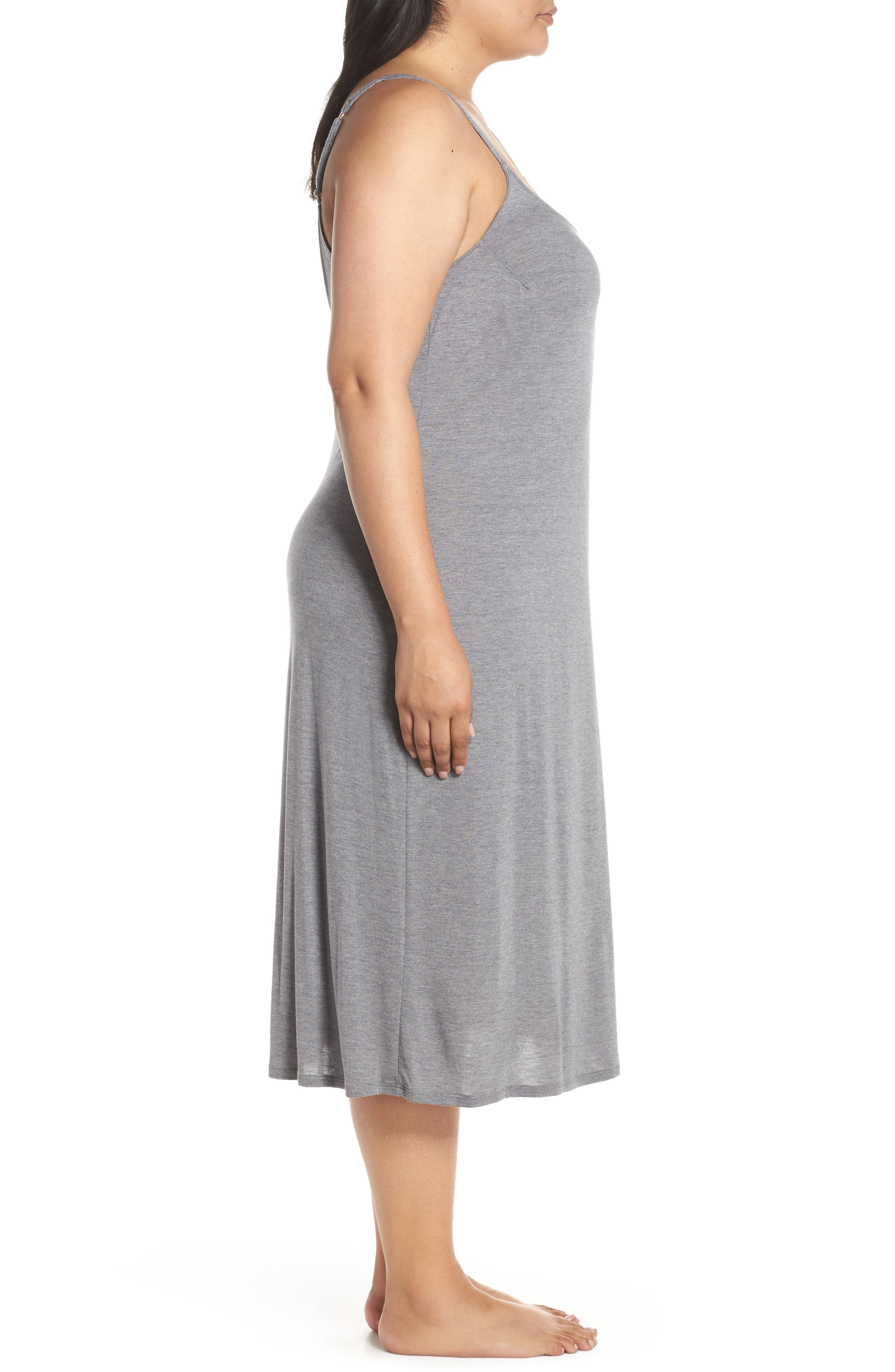NATORI, 'Shangri La' Nightgown, Alternate thumbnail 4, color, 051