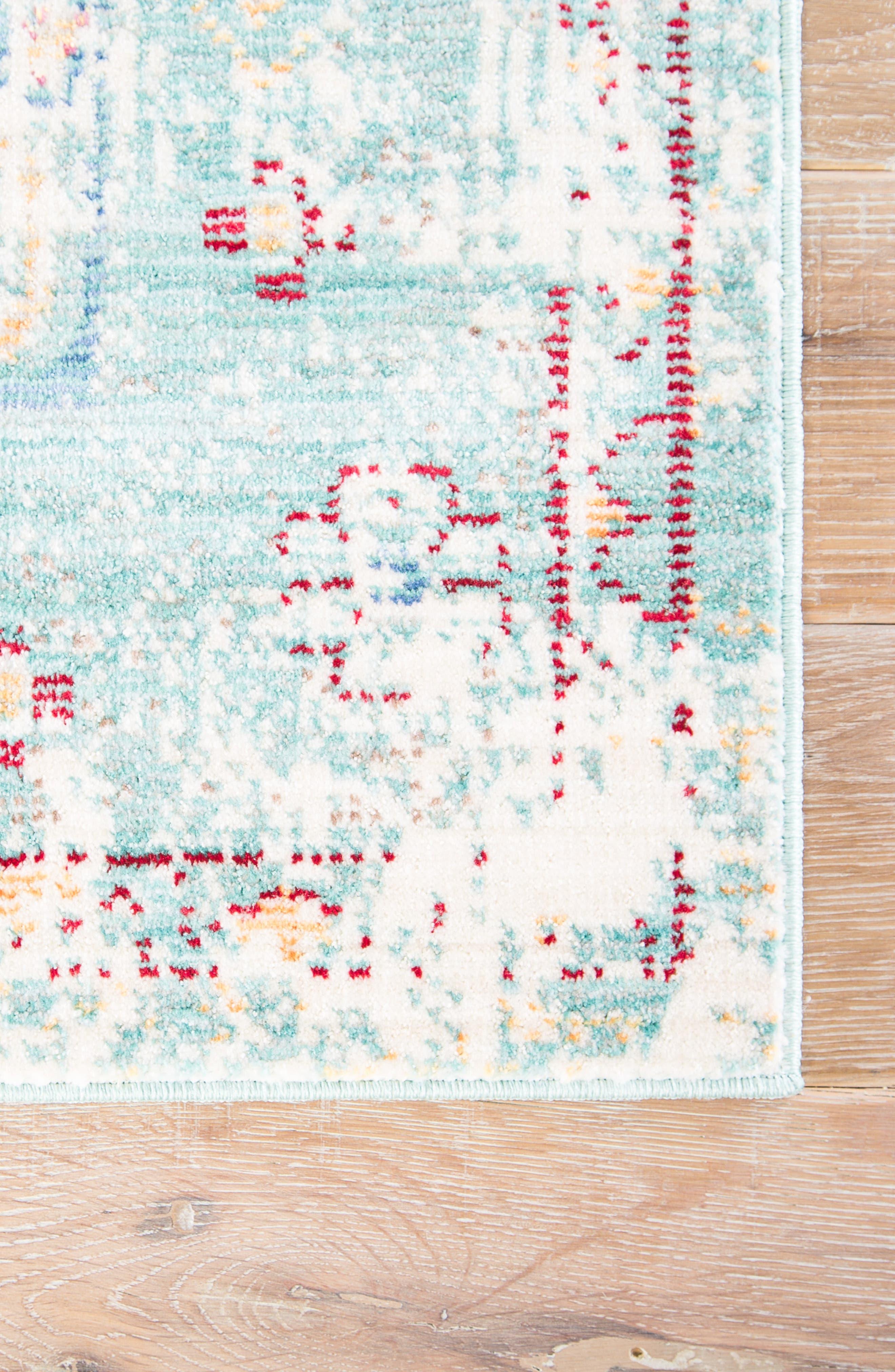 JAIPUR, Contemporary Porcelain Rug, Alternate thumbnail 2, color, BLUE/ GREY