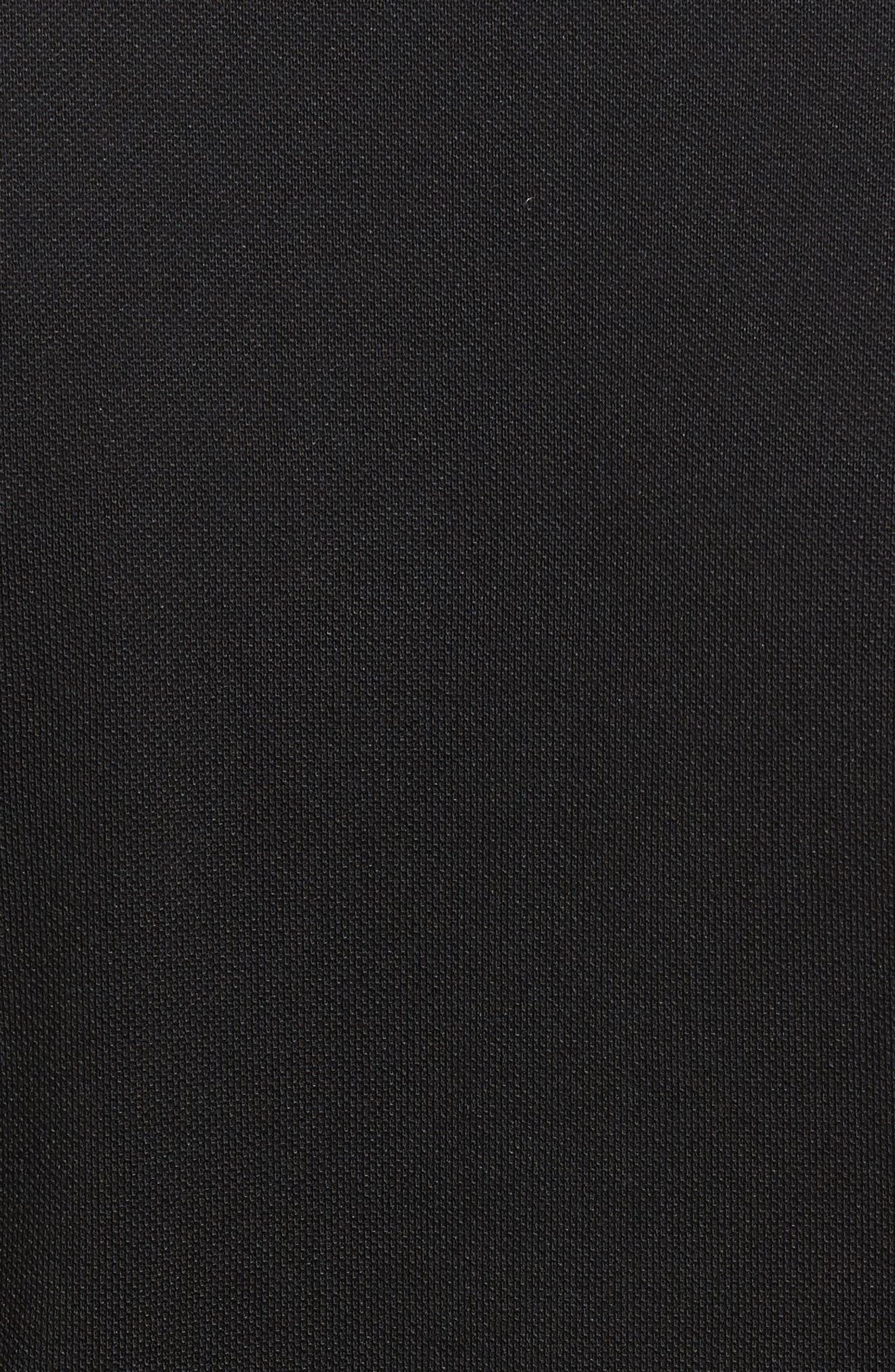CUTTER & BUCK, Advantage Golf Polo, Alternate thumbnail 5, color, BLACK