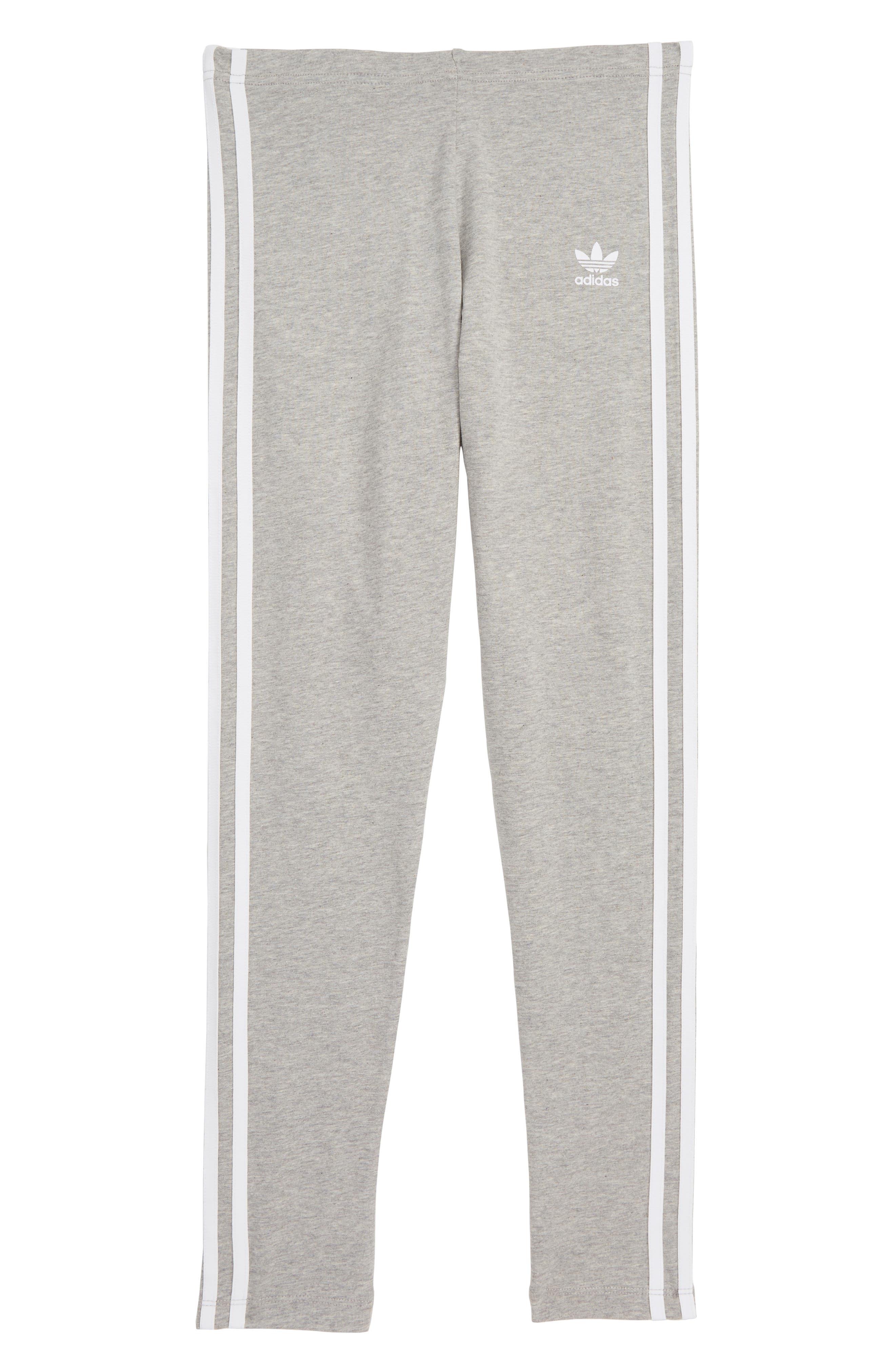 ADIDAS ORIGINALS adidas 3-Stripes Leggings, Main, color, 035