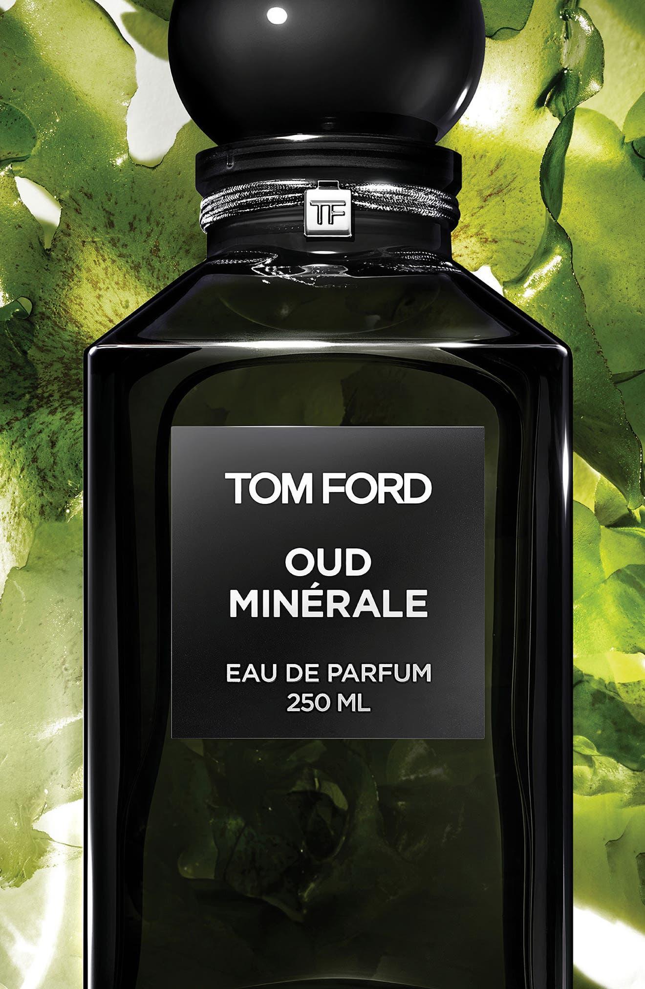 TOM FORD, Private Blend Oud Minérale Eau de Parfum Decanter, Alternate thumbnail 3, color, NO COLOR