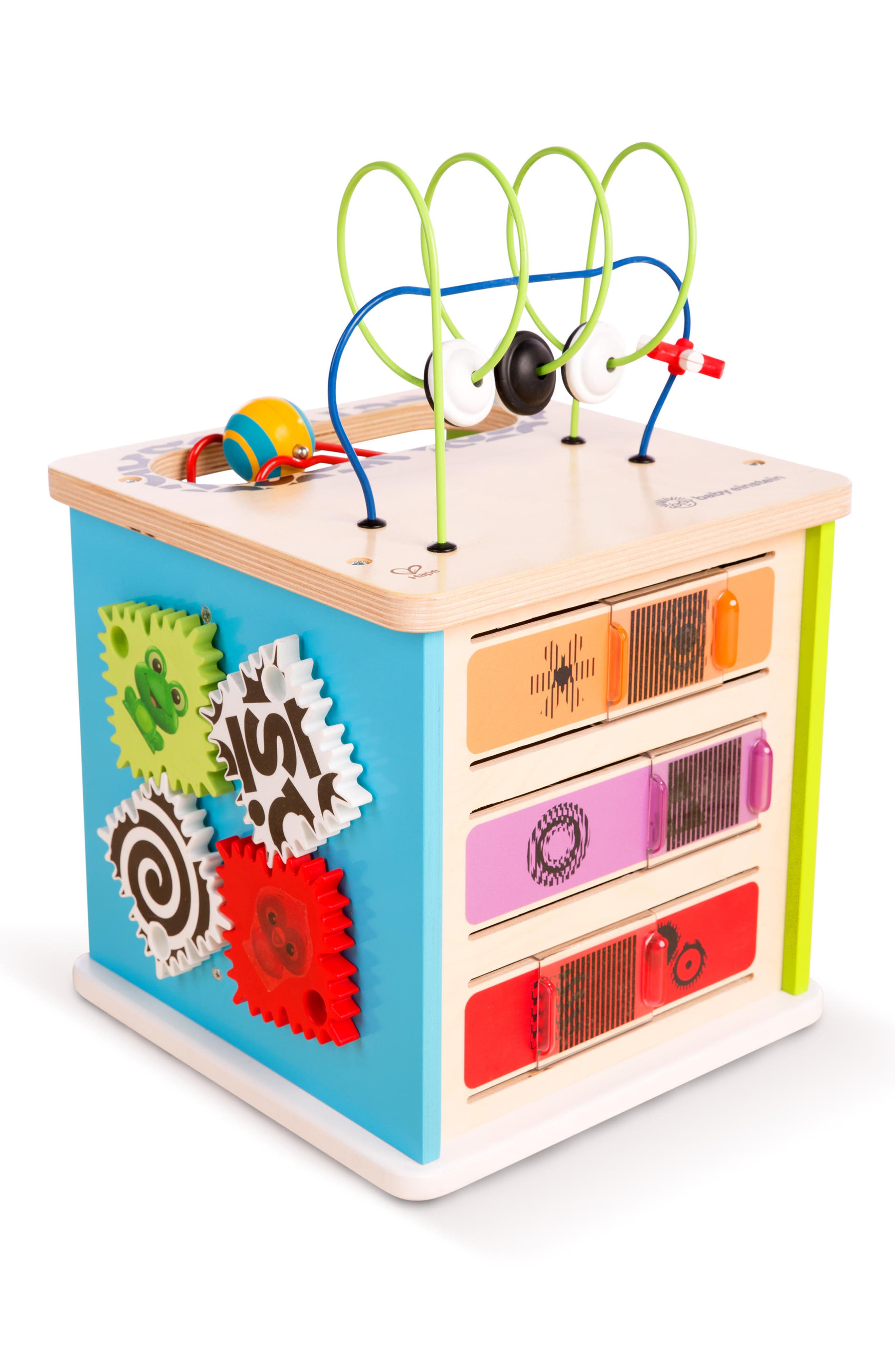 BABY EINSTEIN Innovation Station Activity Cube, Main, color, NEUTRAL