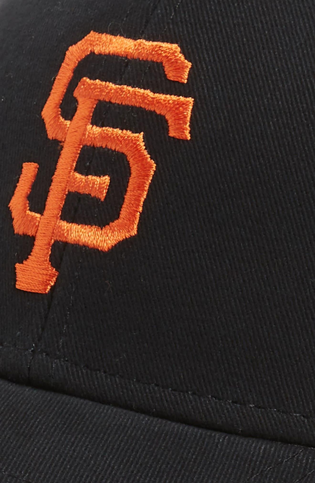 '47, San Francisco Giants Baseball Cap, Alternate thumbnail 3, color, BLACK