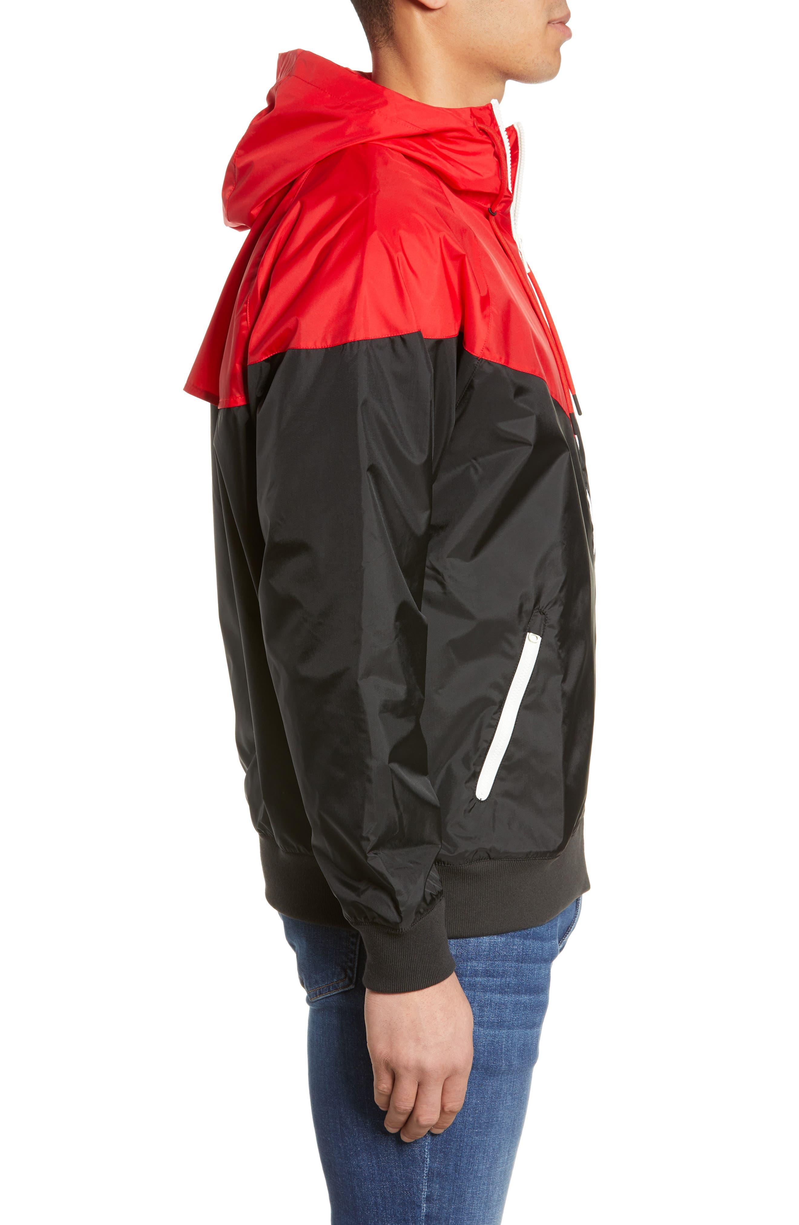 NIKE, Sportswear Windrunner Jacket, Alternate thumbnail 4, color, 011