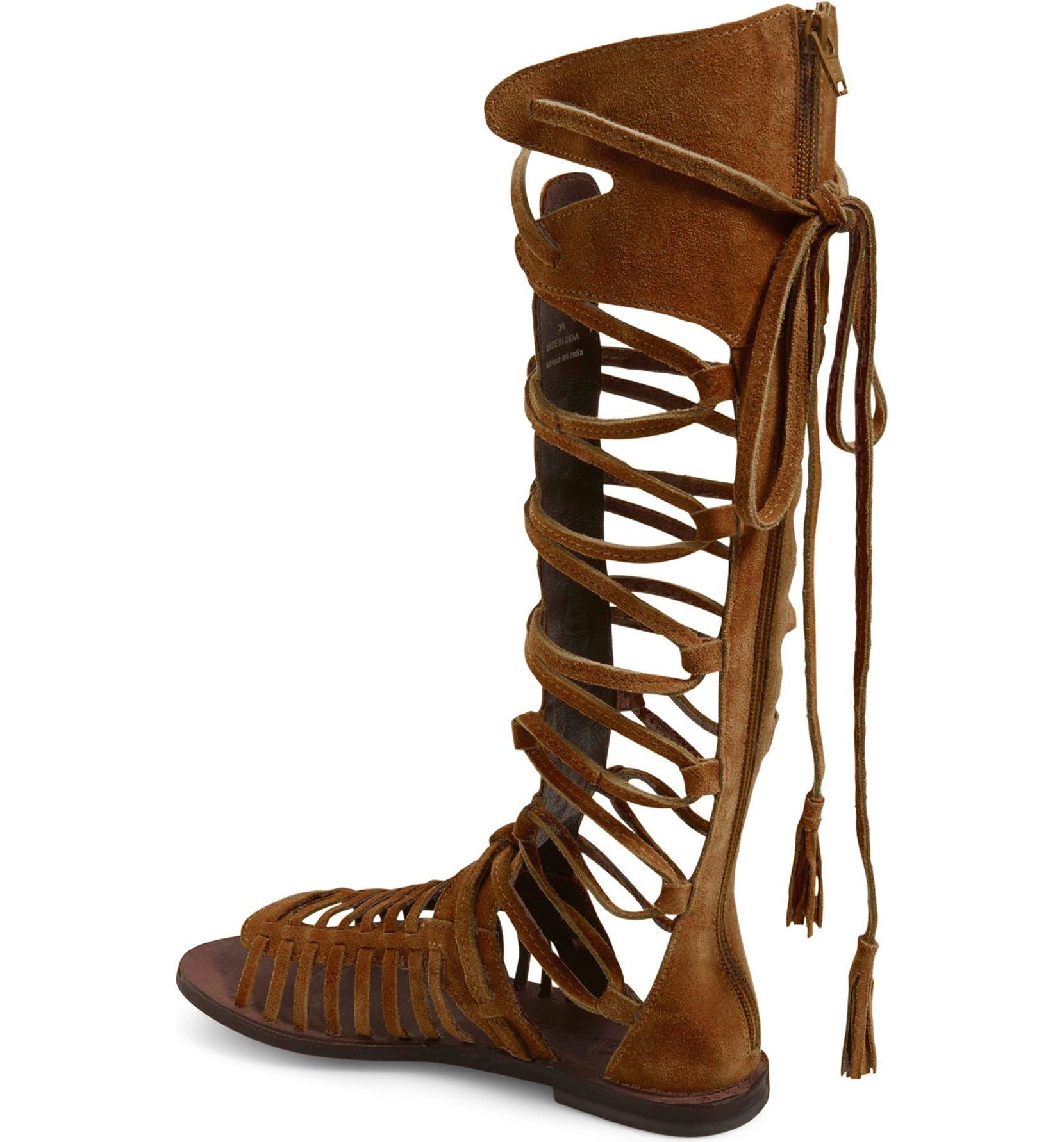 d0af84f4e96 Free People  Sun Seeker  Tall Gladiator Sandal (Women)