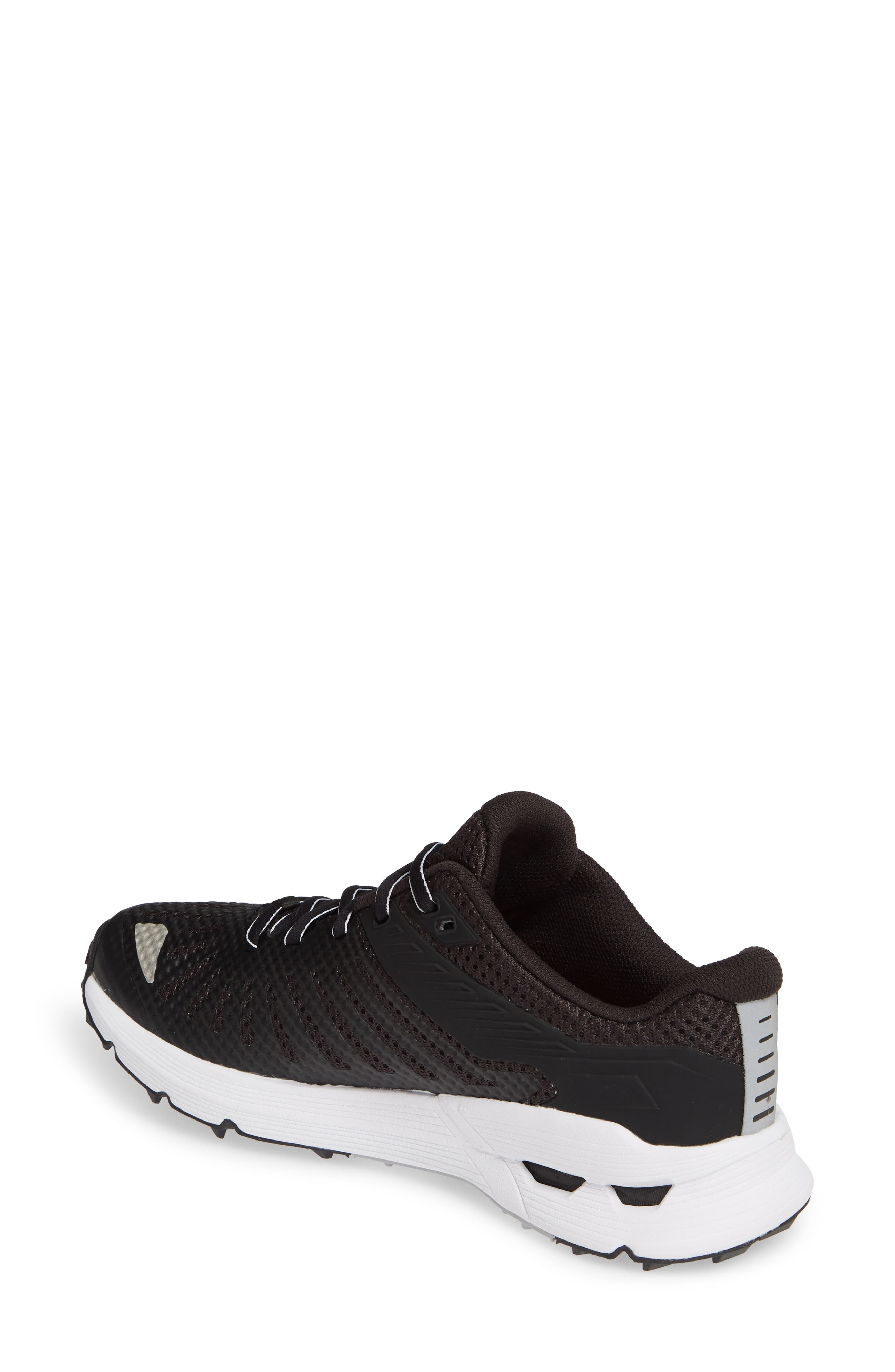 THE NORTH FACE, Ampezzo Running Shoe, Alternate thumbnail 2, color, BLACK/ WHITE