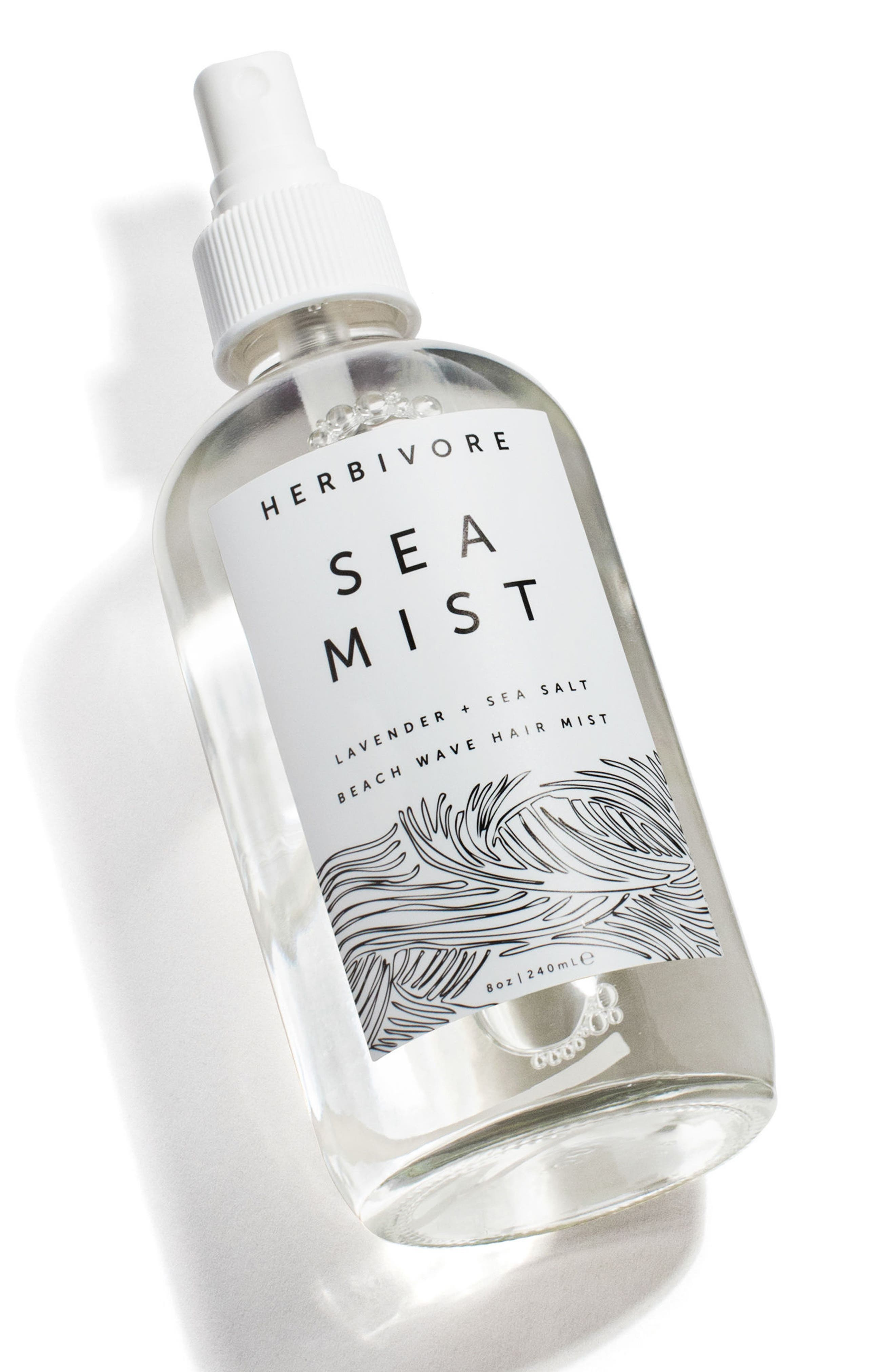 HERBIVORE BOTANICALS, Sea Mist Lavender Hair Texturizing Spray, Alternate thumbnail 2, color, NO COLOR