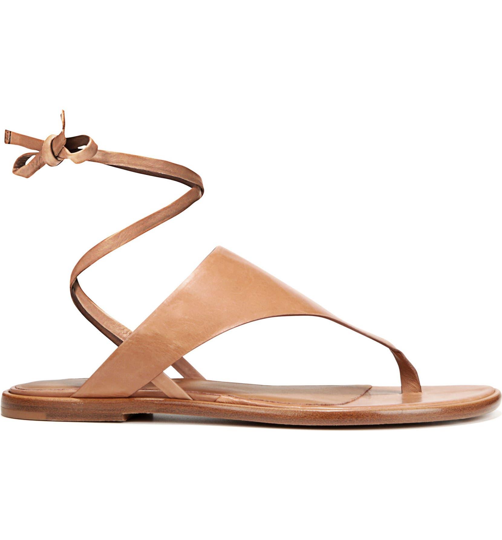 c9041304ade Vince Eastwood V-Strap Wraparound Sandal (Women)