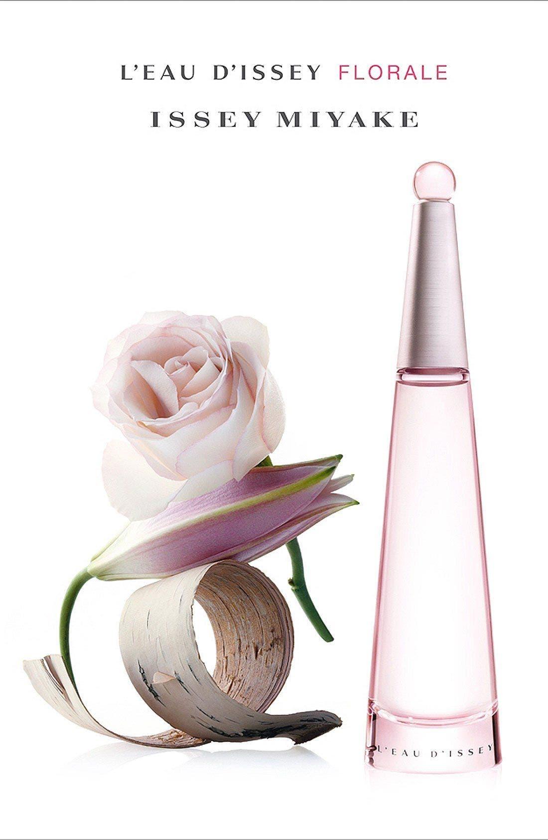 ISSEY MIYAKE, 'L'Eau d'Issey Florale' Eau de Toilette, Alternate thumbnail 2, color, NO COLOR