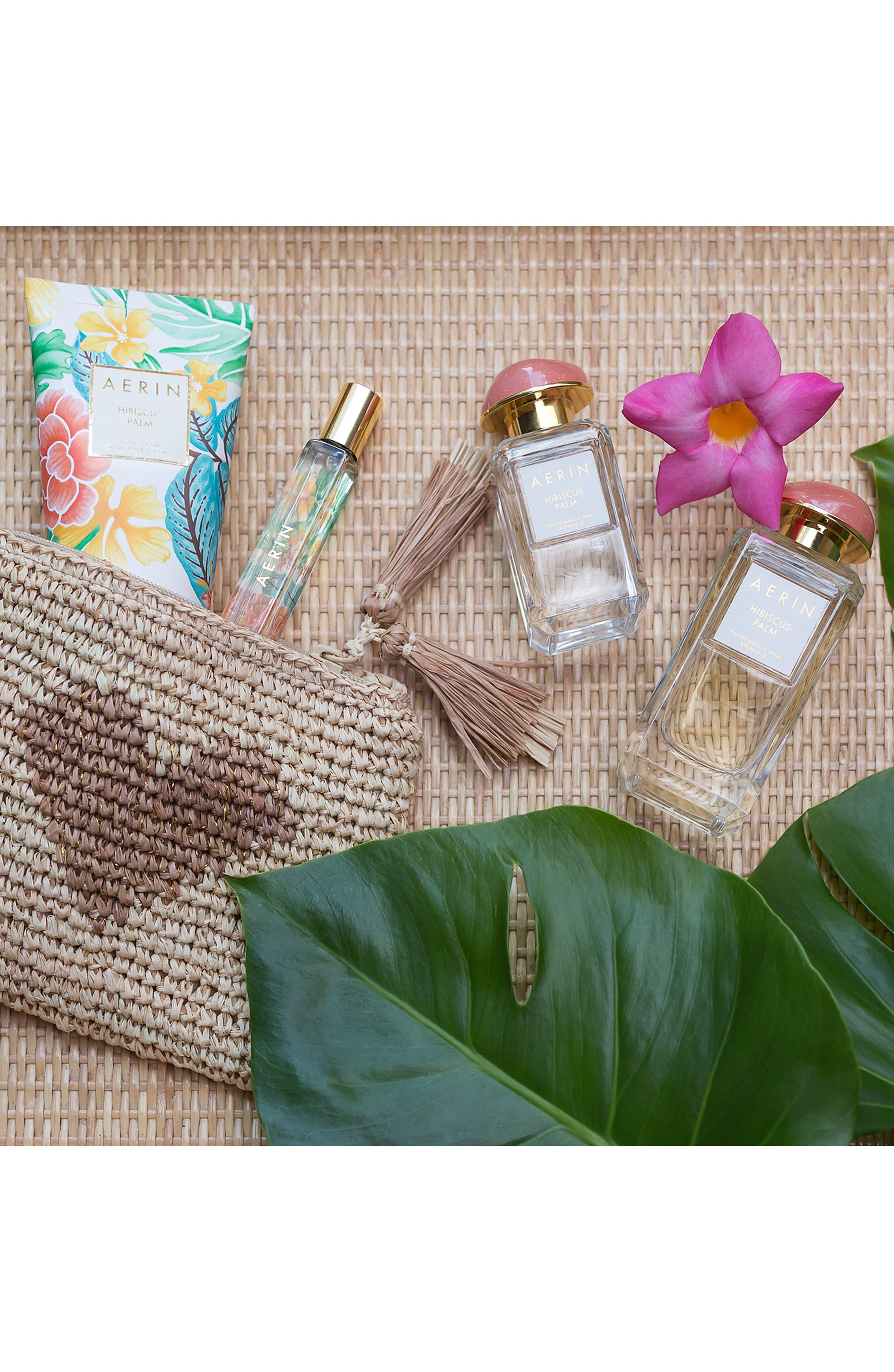ESTÉE LAUDER, AERIN Beauty Hibiscus Palm Body Cream, Alternate thumbnail 6, color, NO COLOR
