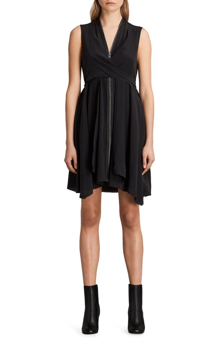 034eba9892c ALLSAINTS Jayda Silk Dress