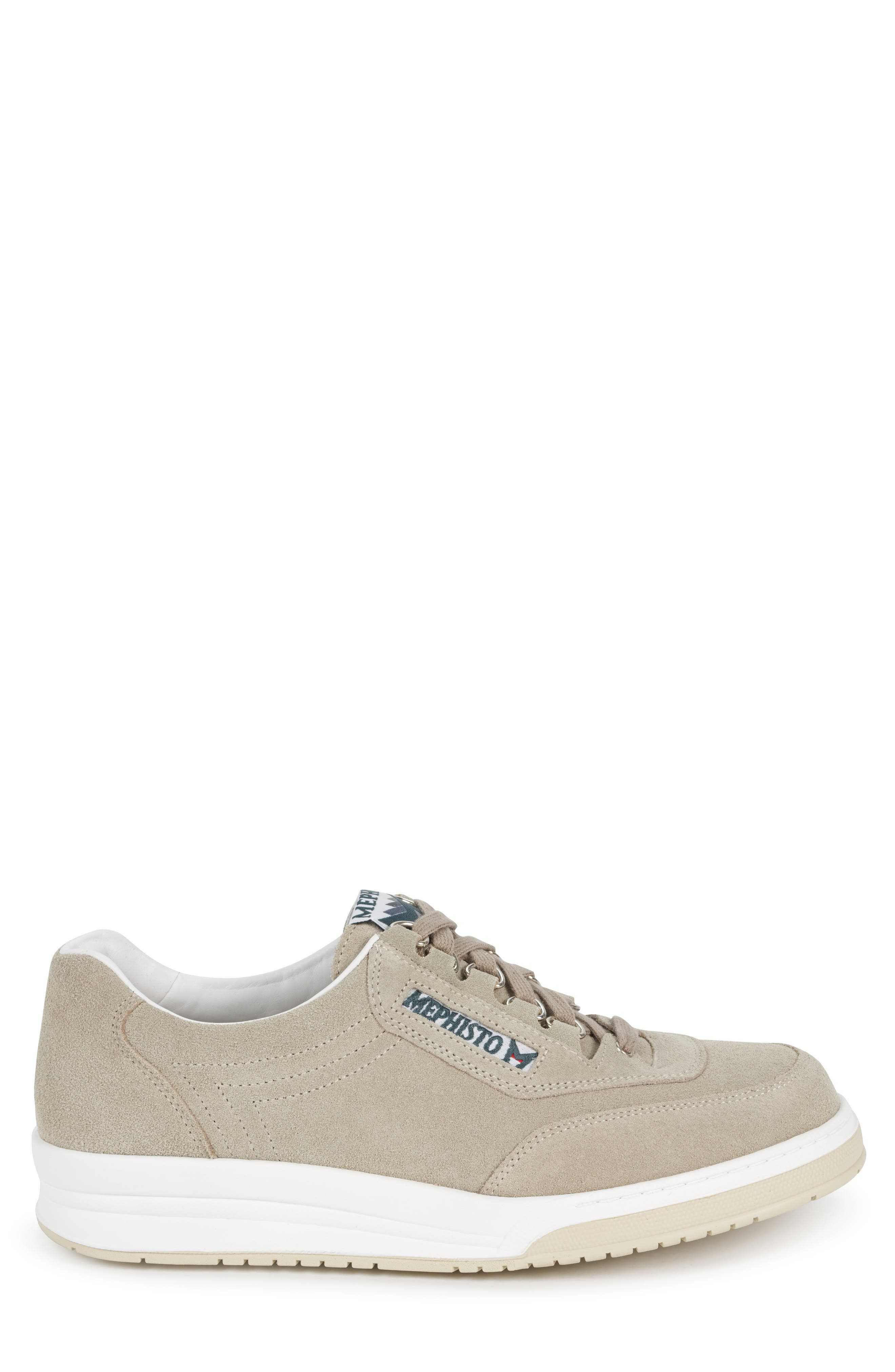 MEPHISTO, 'Match' Walking Shoe, Alternate thumbnail 3, color, CAMEL
