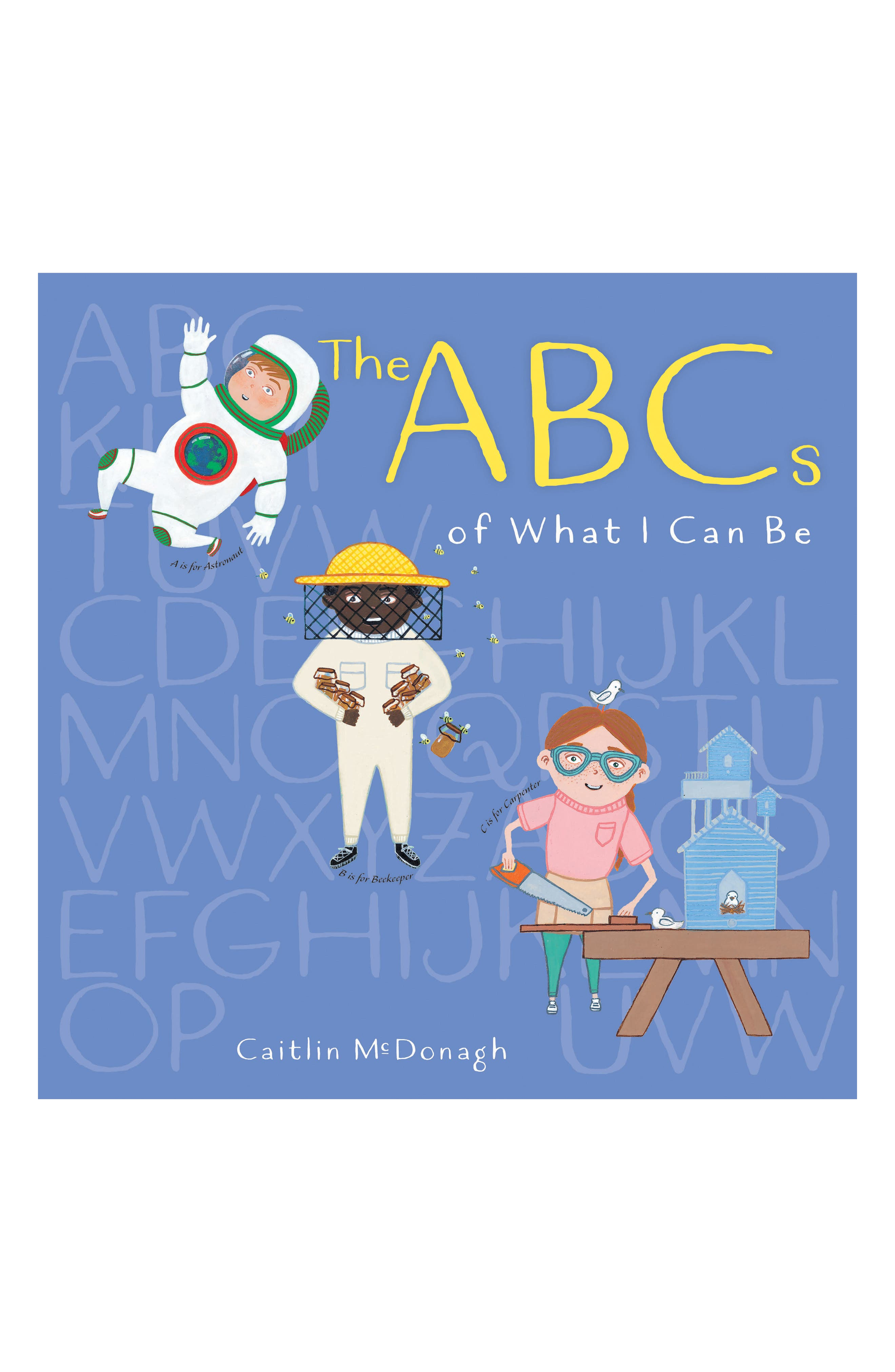 PENGUIN RANDOM HOUSE, 'The ABCs of What I Can Be' Book, Main thumbnail 1, color, LIGHT/ PASTEL BLUE