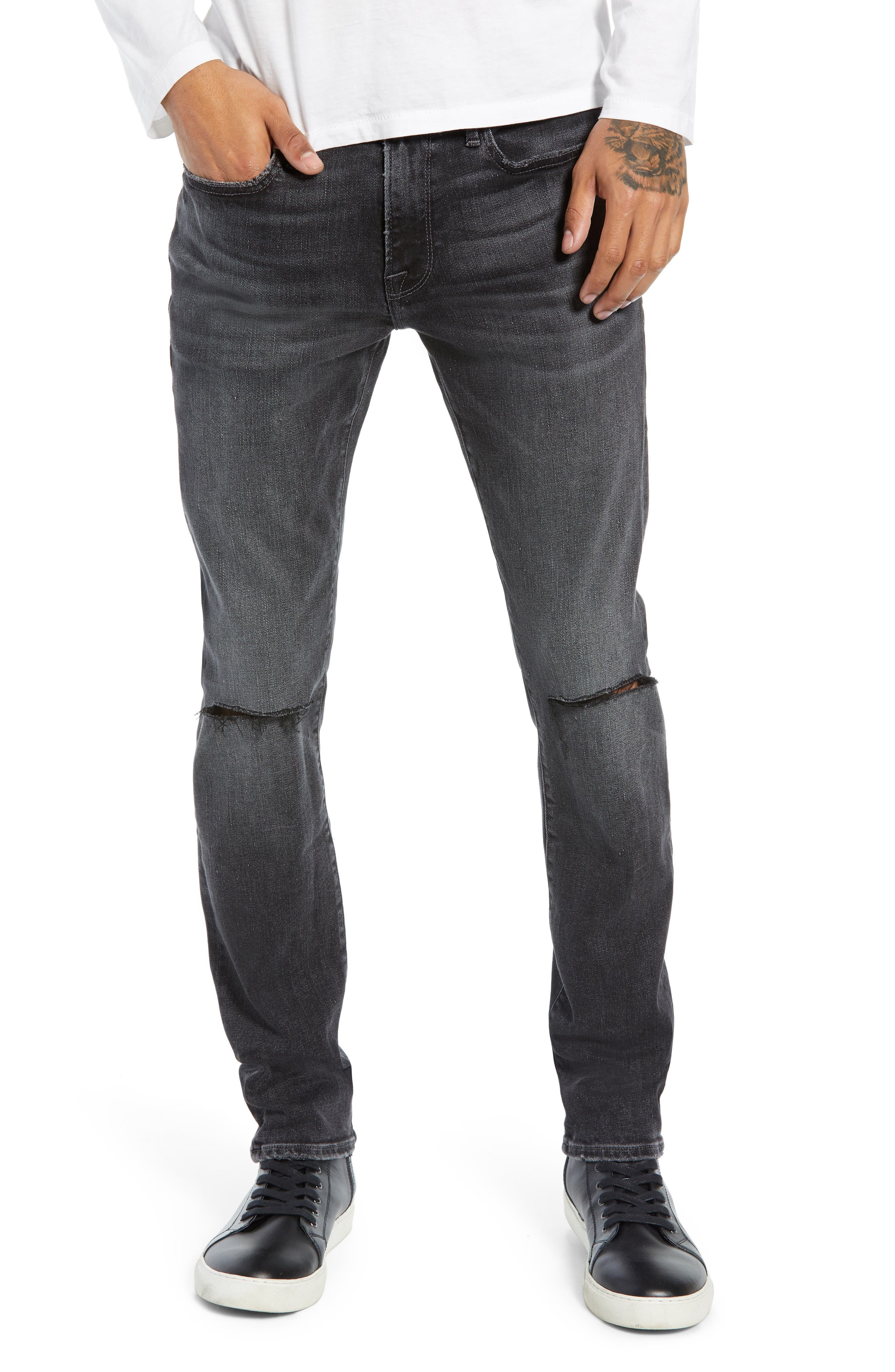 FRAME, L'Homme Slim Fit Jeans, Main thumbnail 1, color, HUBBELL