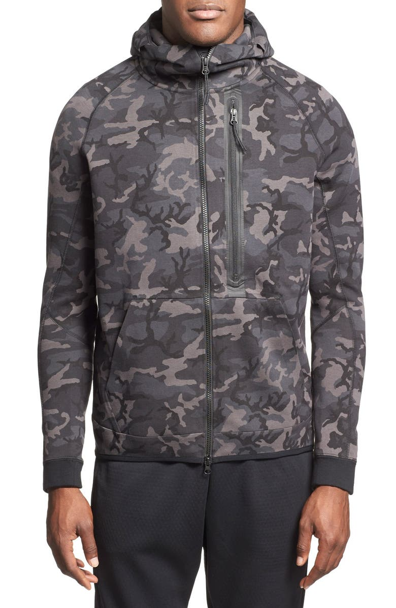 5baf0eadb88a Nike  Tech Fleece Hero  Camo Full Zip Hoodie