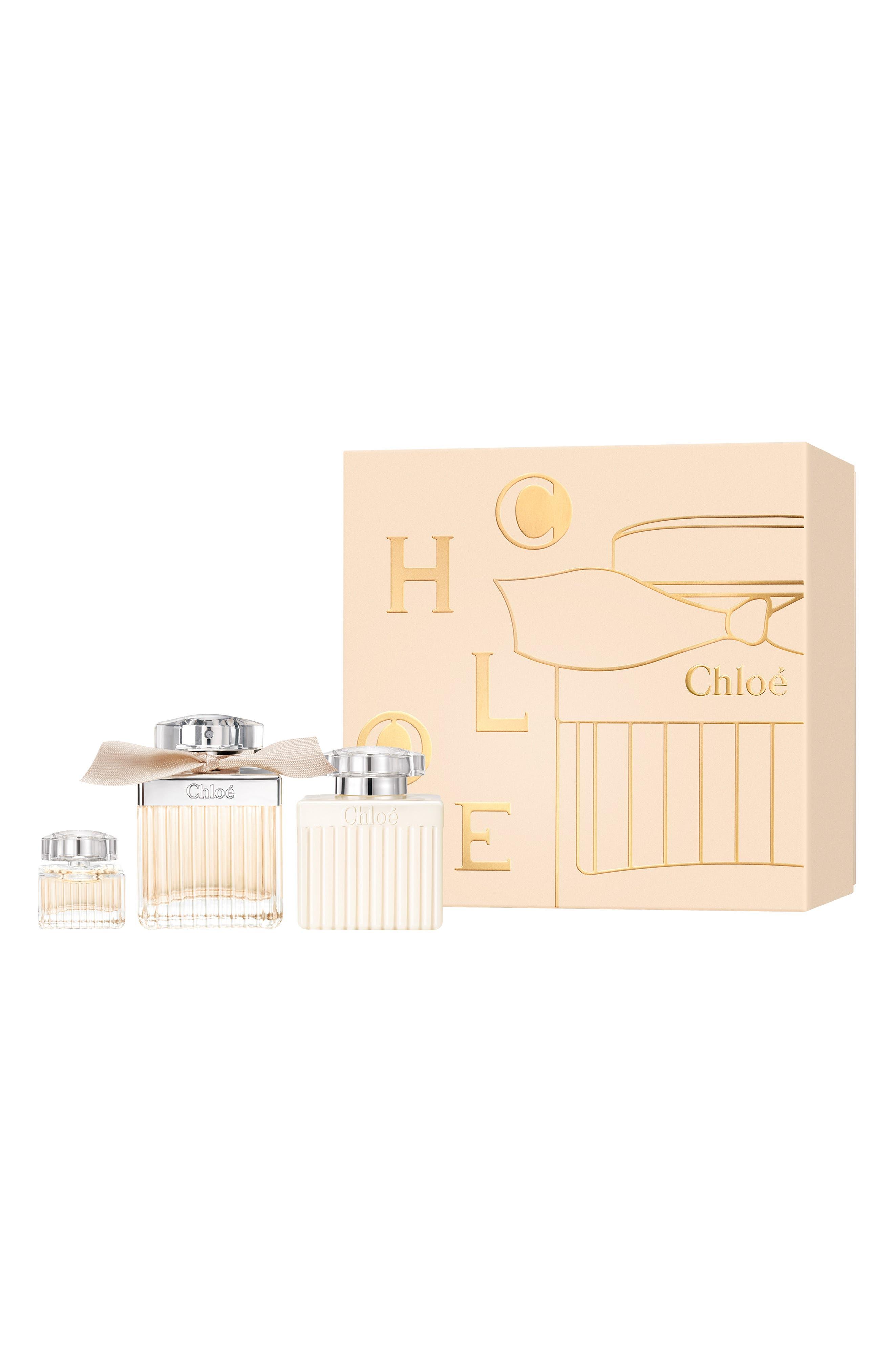 CHLOÉ, Eau de Parfum Set, Main thumbnail 1, color, NO COLOR