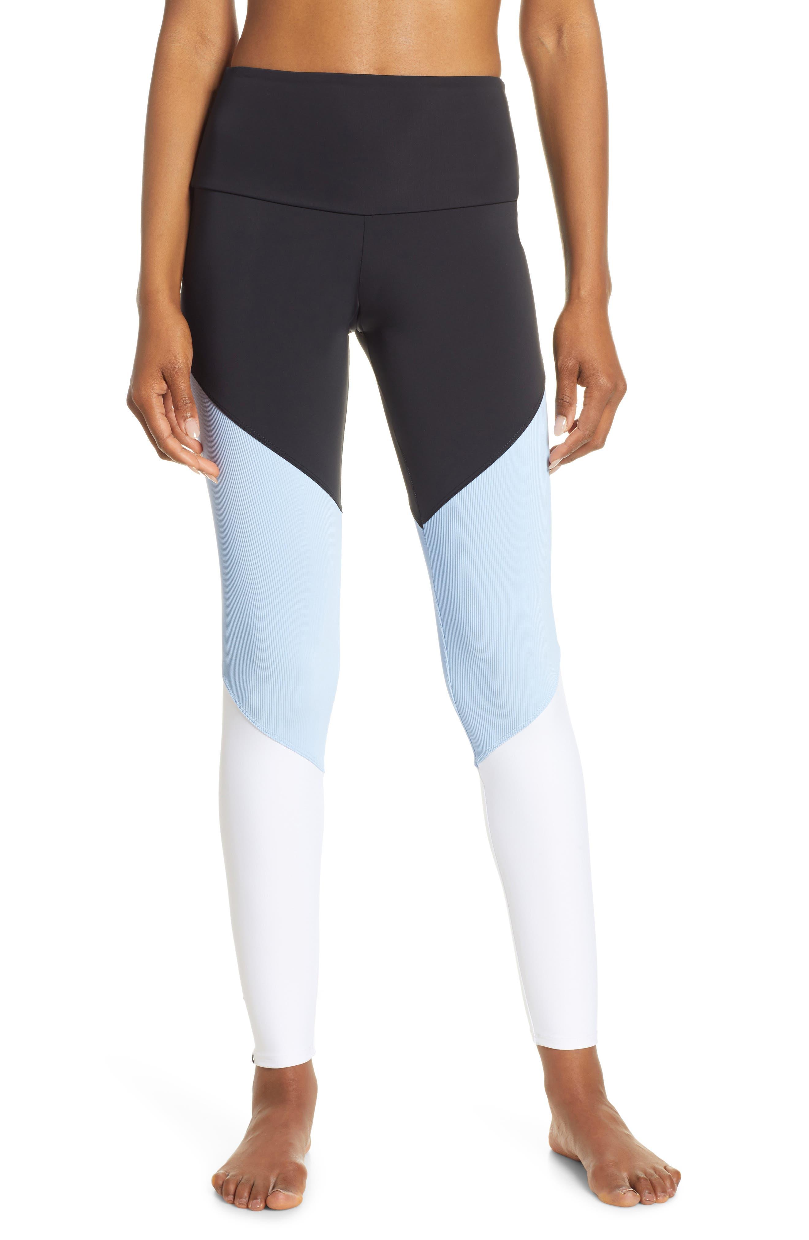 ONZIE Track High Rise Leggings, Main, color, 005