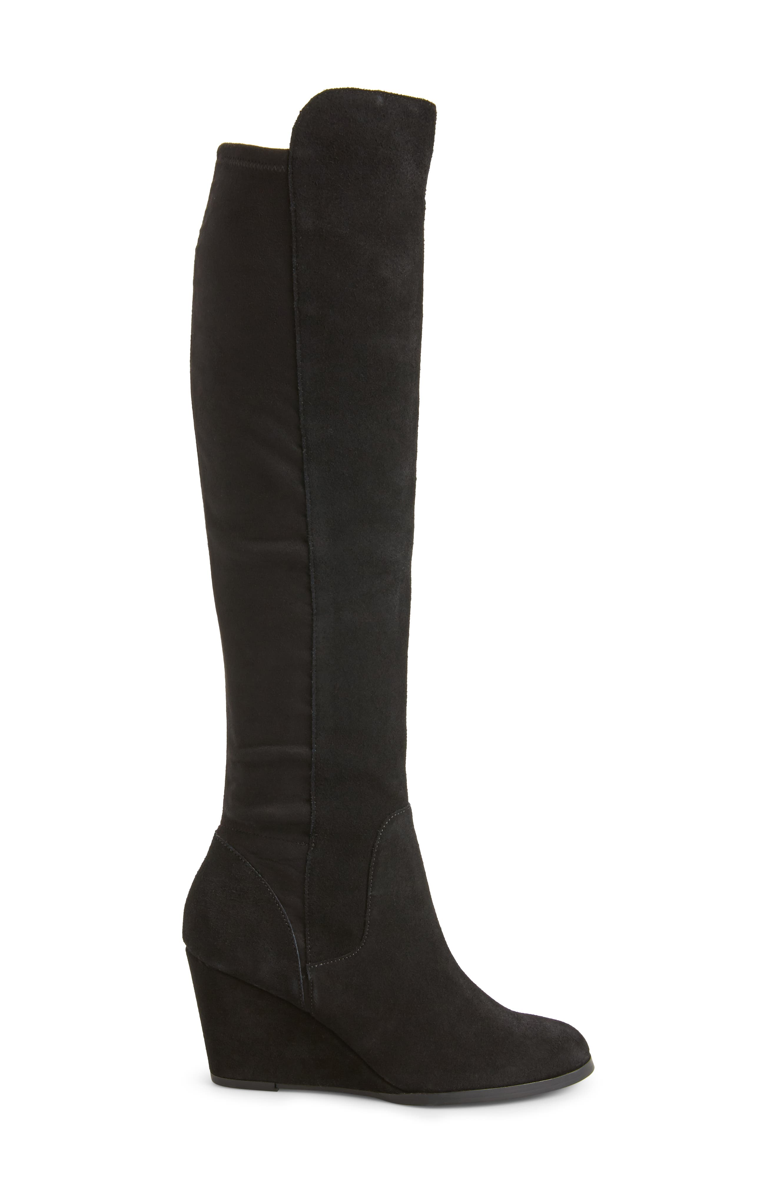 SOLE SOCIETY, Laila Boot, Alternate thumbnail 3, color, 001