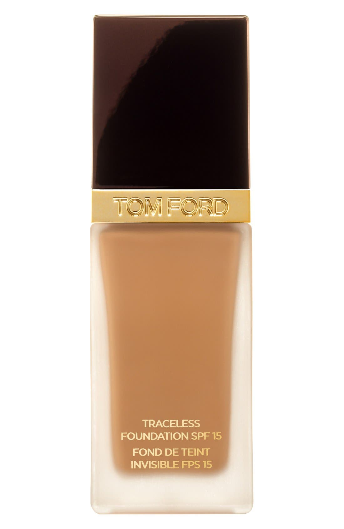 TOM FORD, Traceless Foundation SPF 15, Main thumbnail 1, color, 7.5 CARAMEL
