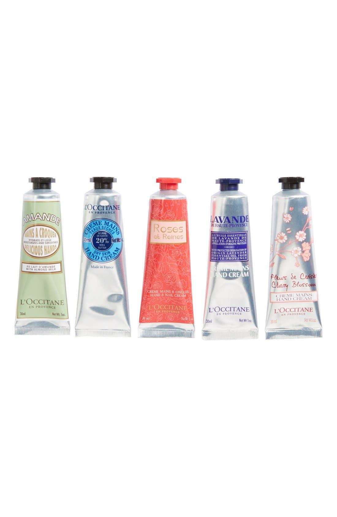 L'OCCITANE, Hand Creams of Provence, Alternate thumbnail 2, color, 000