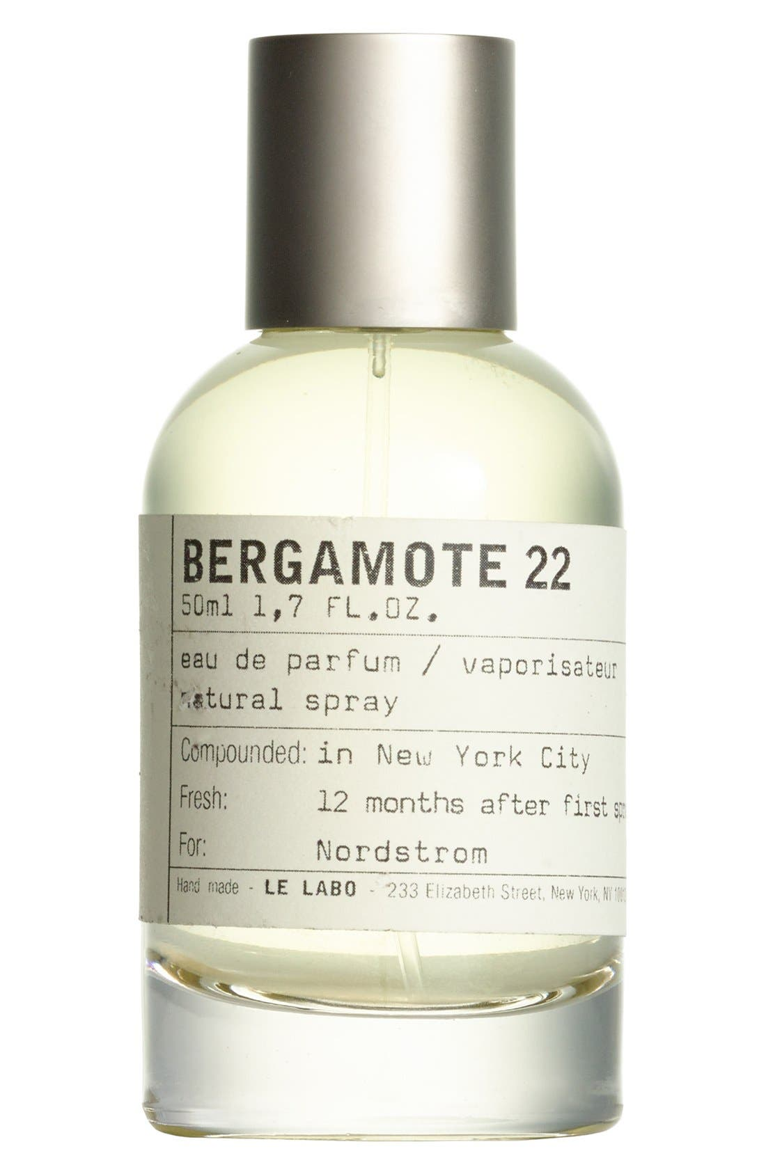 LE LABO, 'Bergamote 22' Eau de Parfum, Alternate thumbnail 6, color, NO COLOR