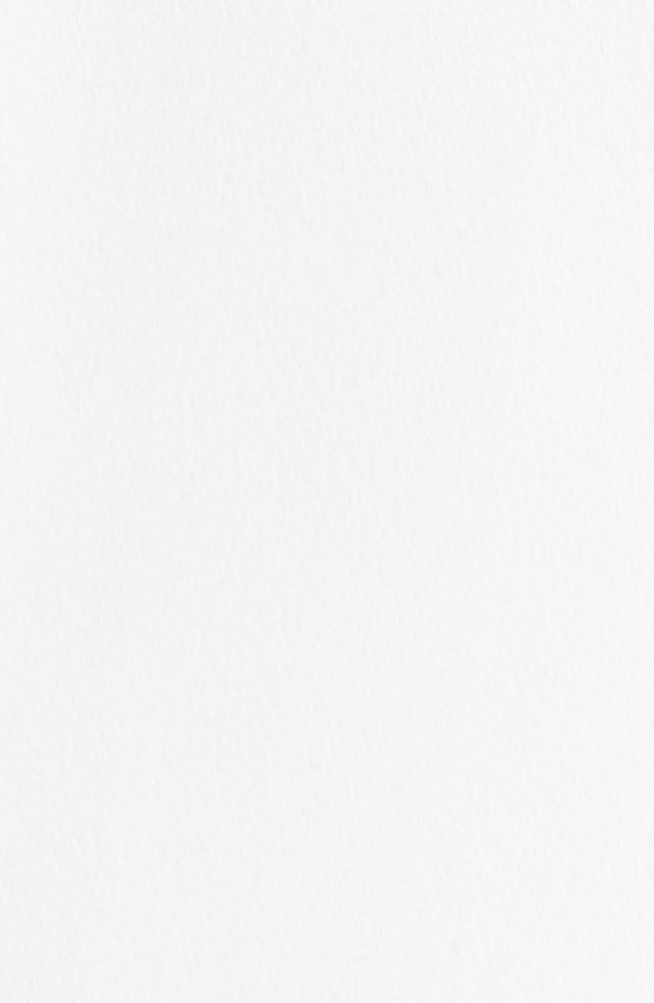 RACHEL RACHEL ROY, Crepe Trench Coat, Alternate thumbnail 7, color, 100