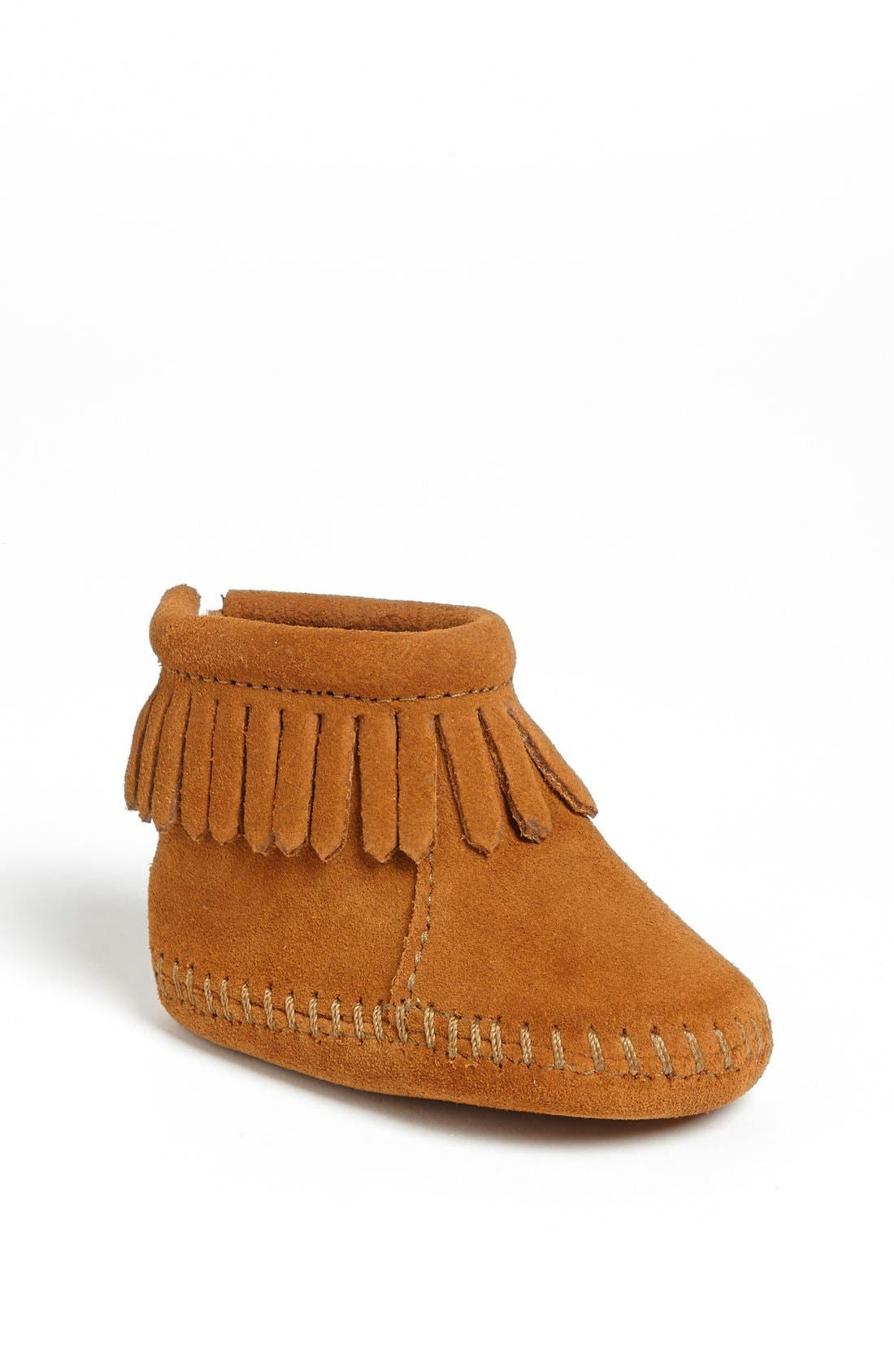 MINNETONKA, Bootie, Main thumbnail 1, color, BROWN