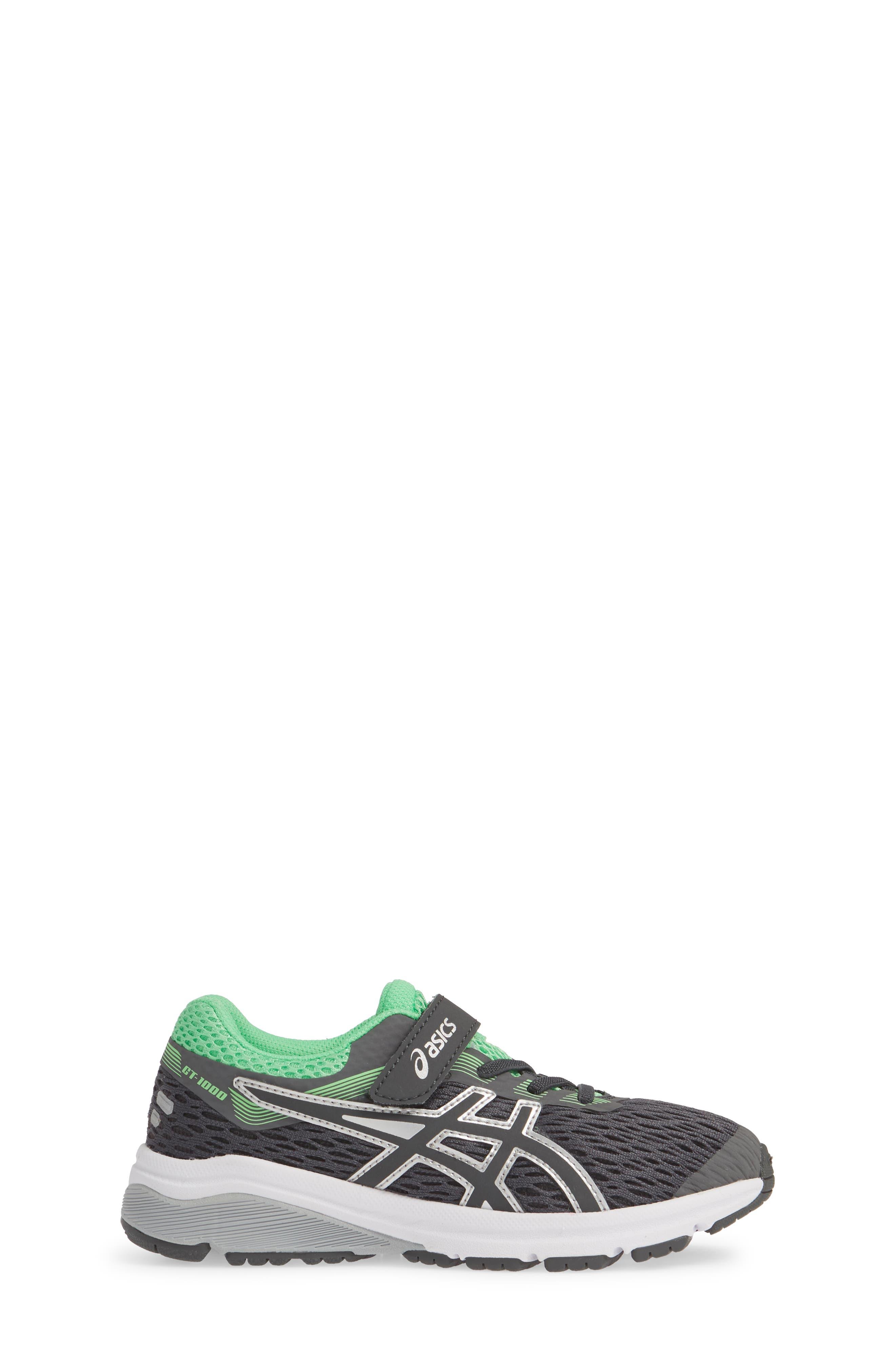 ASICS<SUP>®</SUP>, GT 1000 7 Running Shoe, Alternate thumbnail 3, color, DARK GREY/ DARK GREY