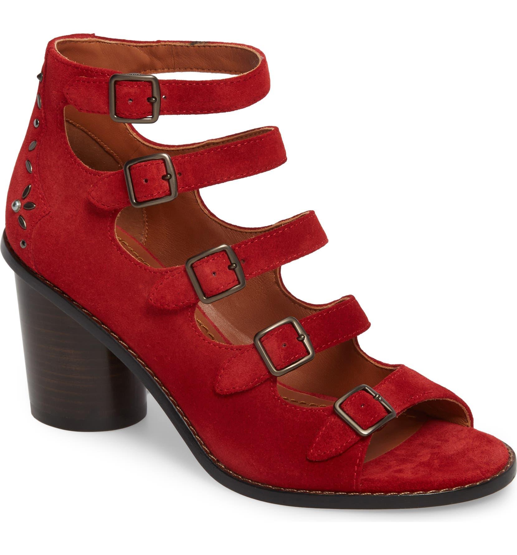 036cf7239f24 COACH Prairie Rivet Buckle Sandal (Women)