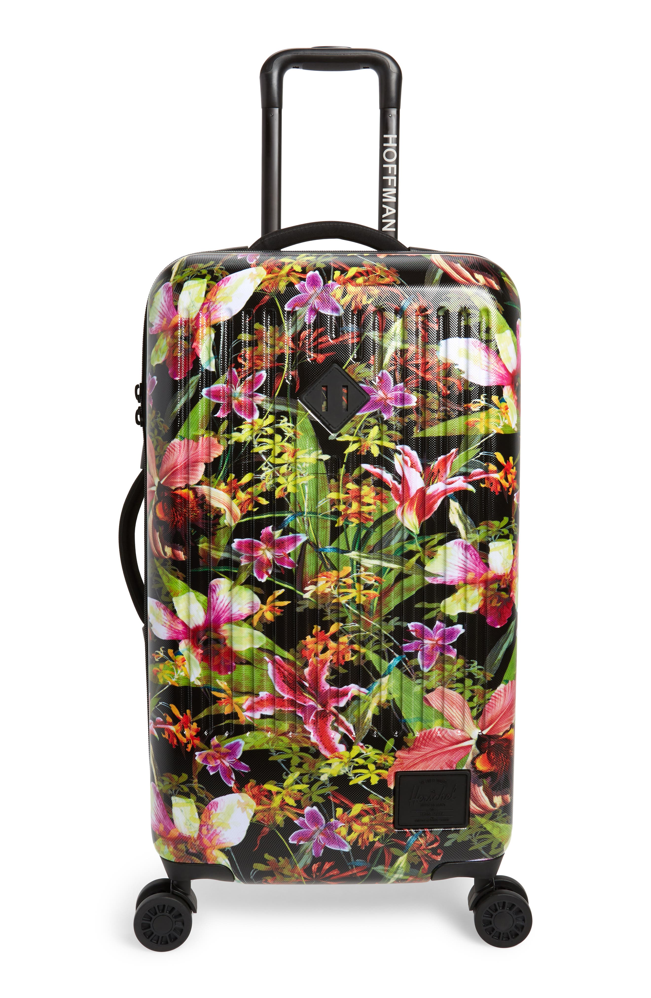 HERSCHEL SUPPLY CO., Trade 29-Inch Medium Wheeled Packing Case, Main thumbnail 1, color, JUNGLE HOFFMAN