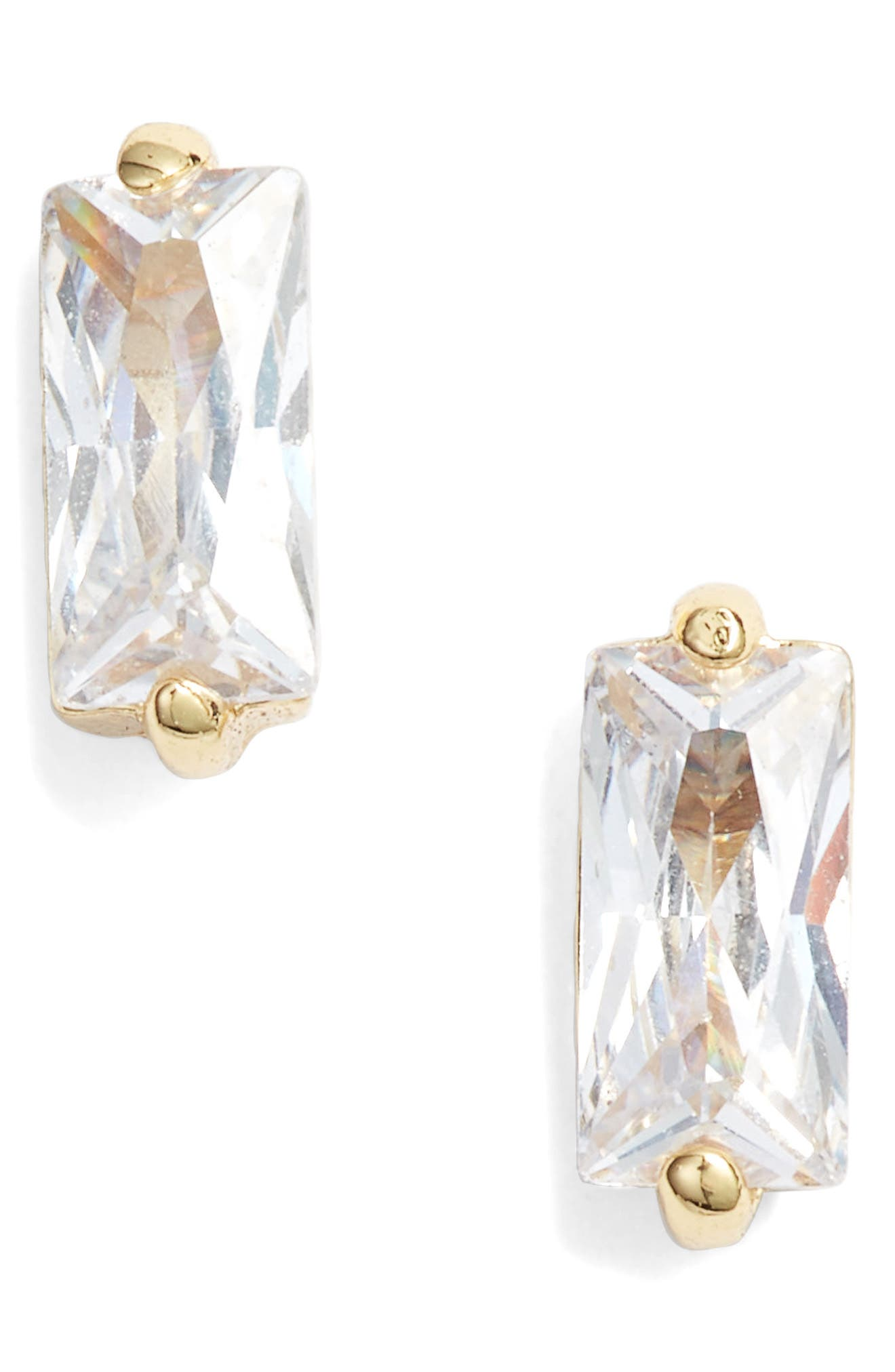 GORJANA, Amara Stud Earrings, Main thumbnail 1, color, GOLD