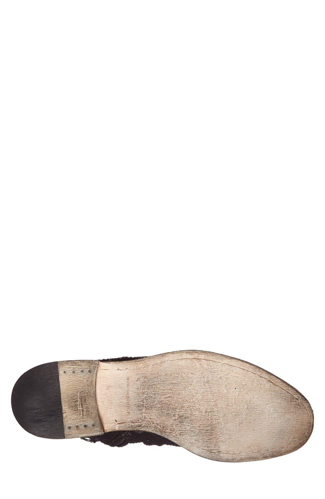 JOHN VARVATOS, Collection 'Richards - Sharpei' Zip Boot, Alternate thumbnail 4, color, 001