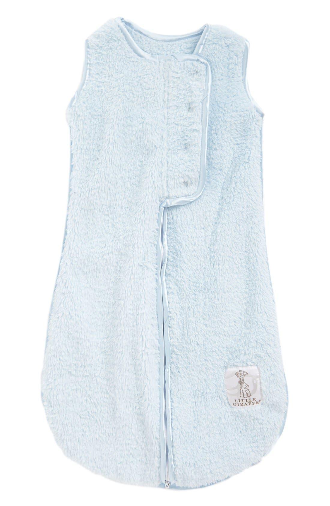 Little Giraffe Dream Sack(TM) Chenille Wearable Blanket Size One Size  Blue