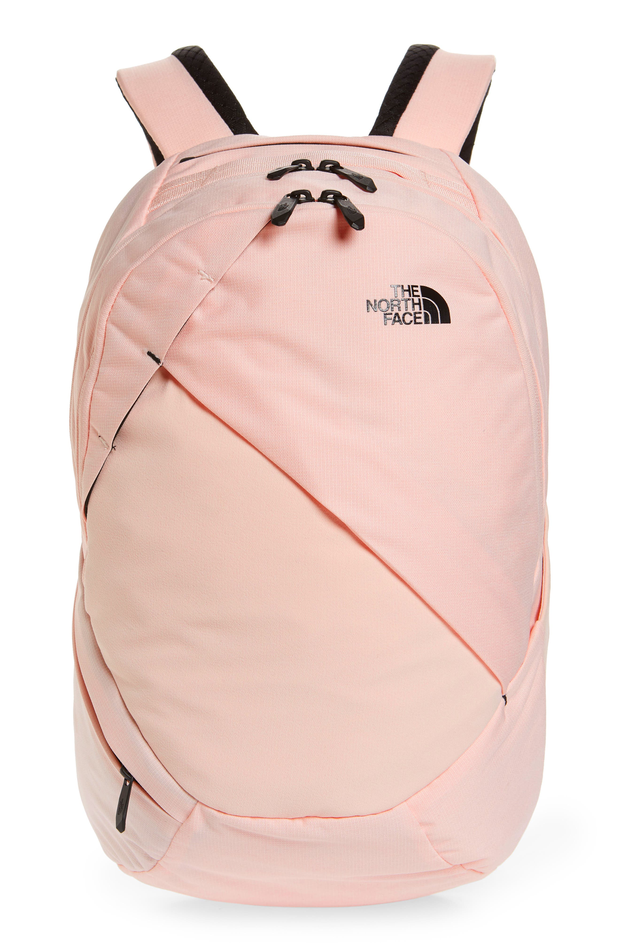 THE NORTH FACE, 'Isabella' Backpack, Main thumbnail 1, color, PINK LIGHT HEATHER/ TNF BLACK